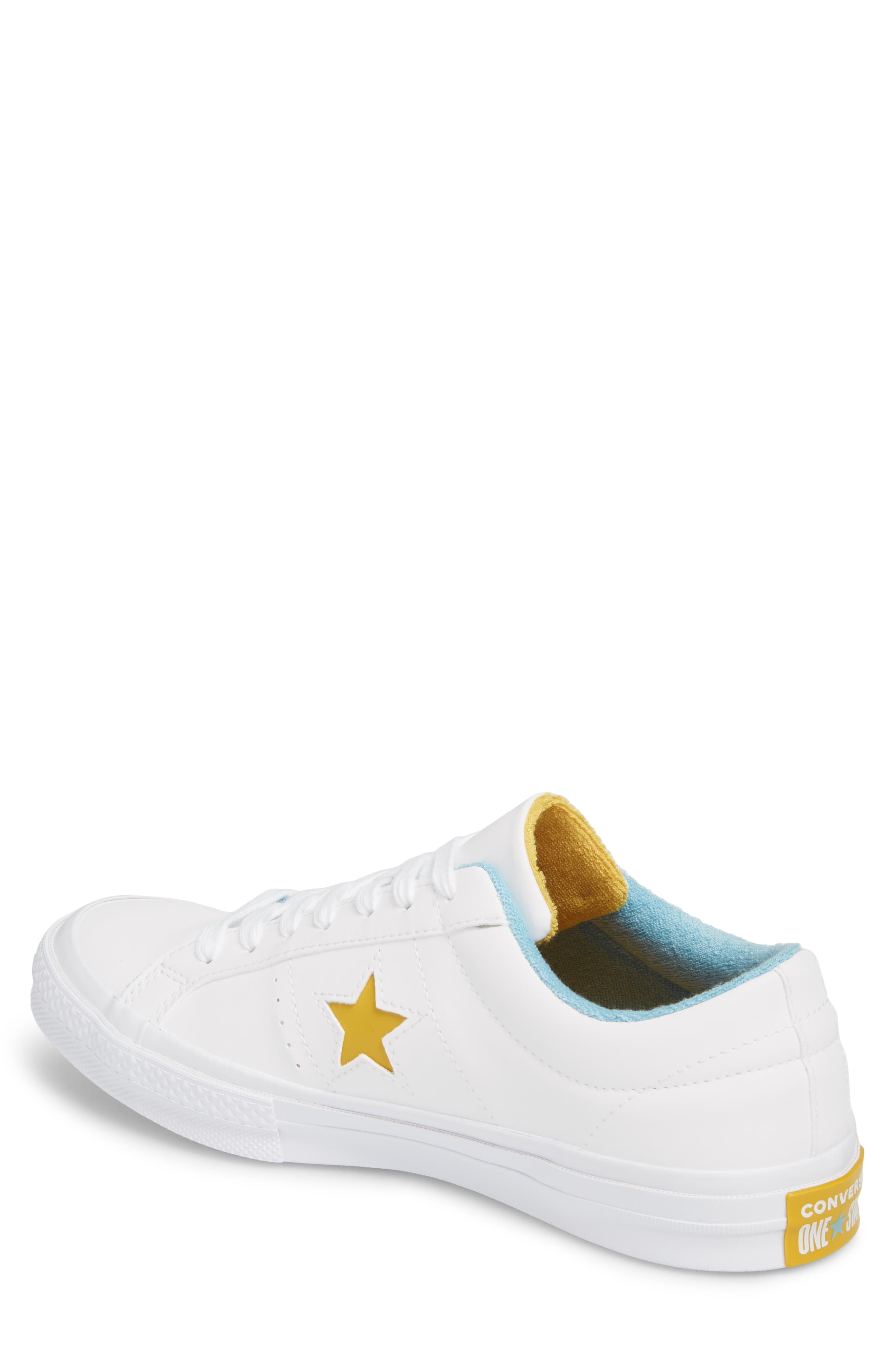 Chuck Taylor<sup>®</sup> One Star Grand Slam Sneaker,                             Alternate thumbnail 4, color,