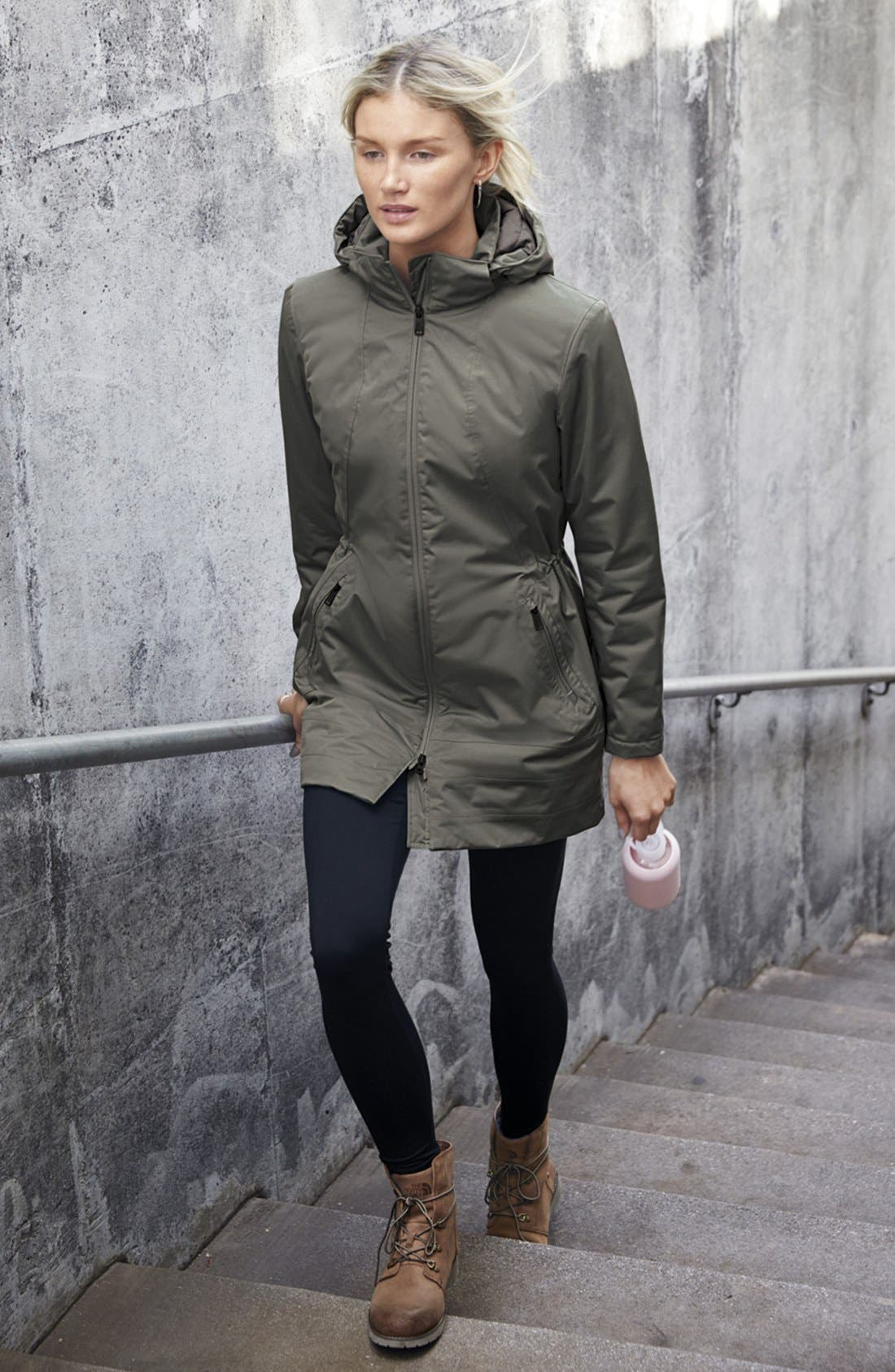 'Ancha' Hooded Waterproof Parka,                             Alternate thumbnail 8, color,                             401