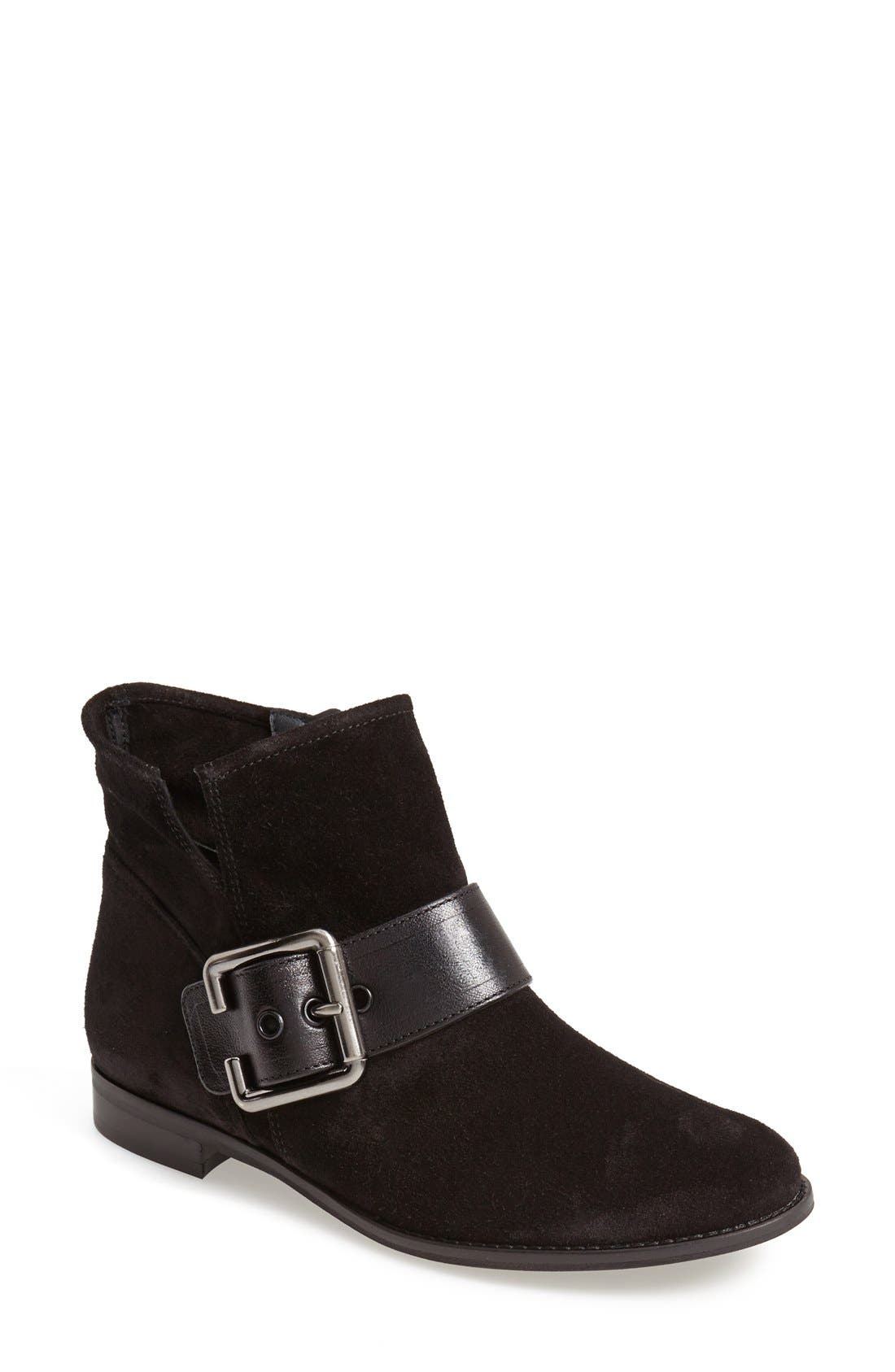 PAUL GREEN 'Bixby' Leather Bootie, Main, color, 009