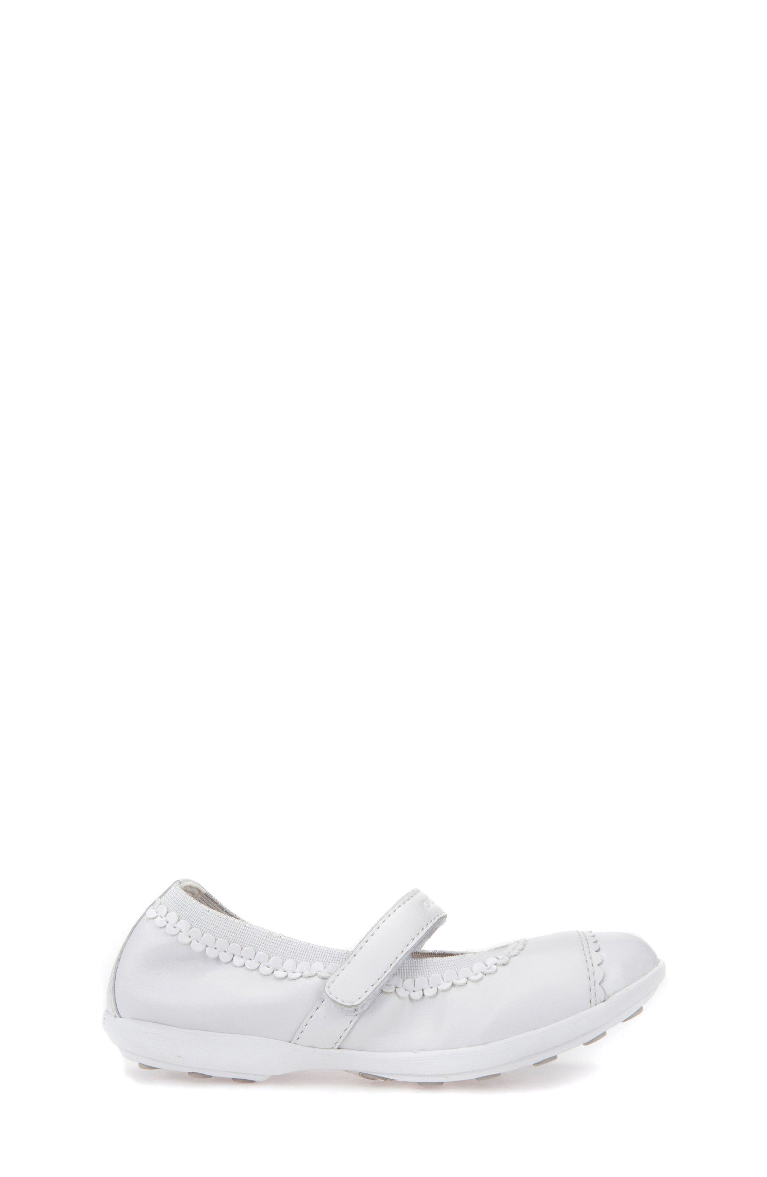 Jodie Cap Toe Mary Jane,                             Alternate thumbnail 3, color,                             WHITE