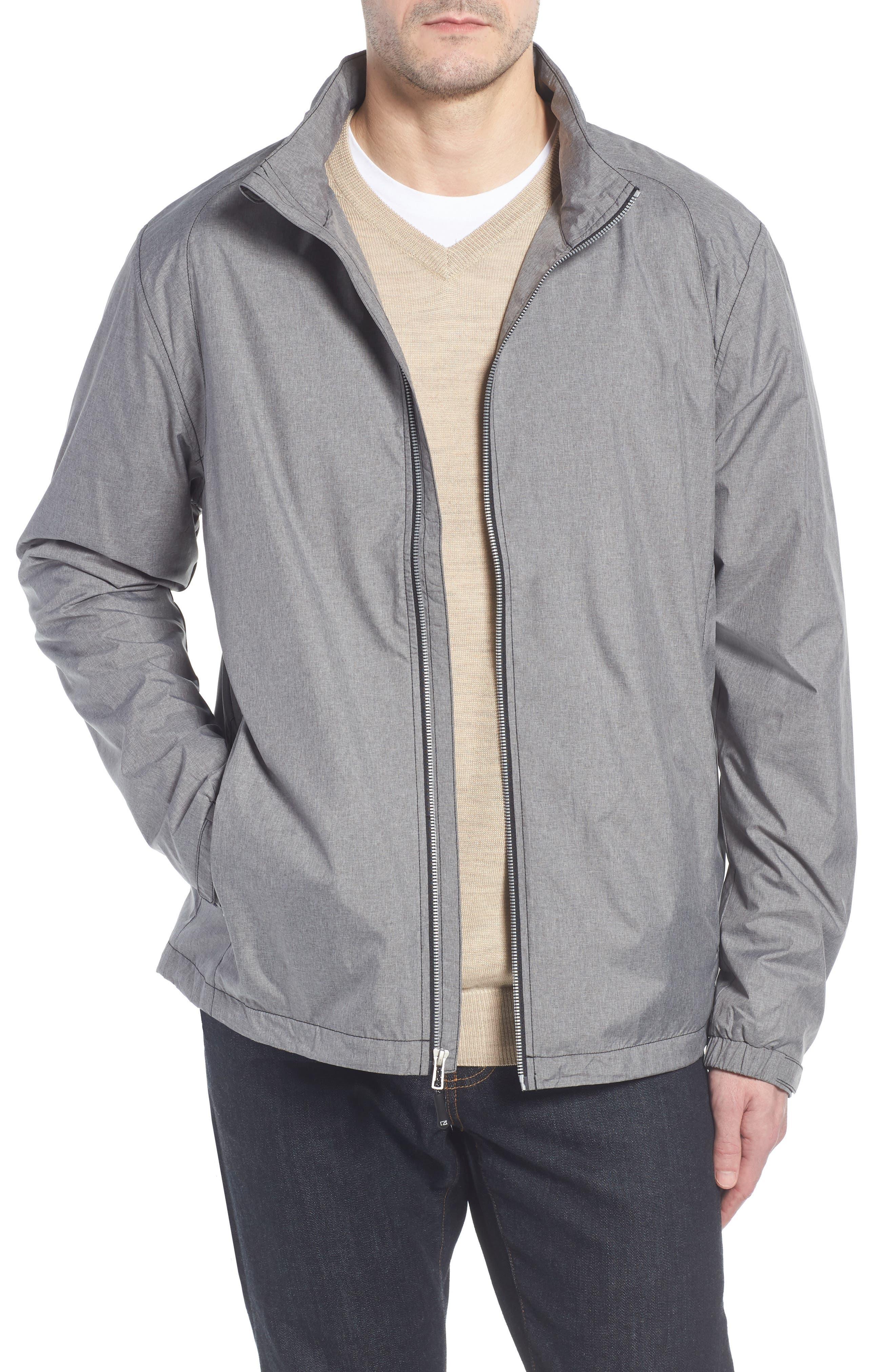 Panoramic Packable Jacket,                             Main thumbnail 1, color,                             BLACK