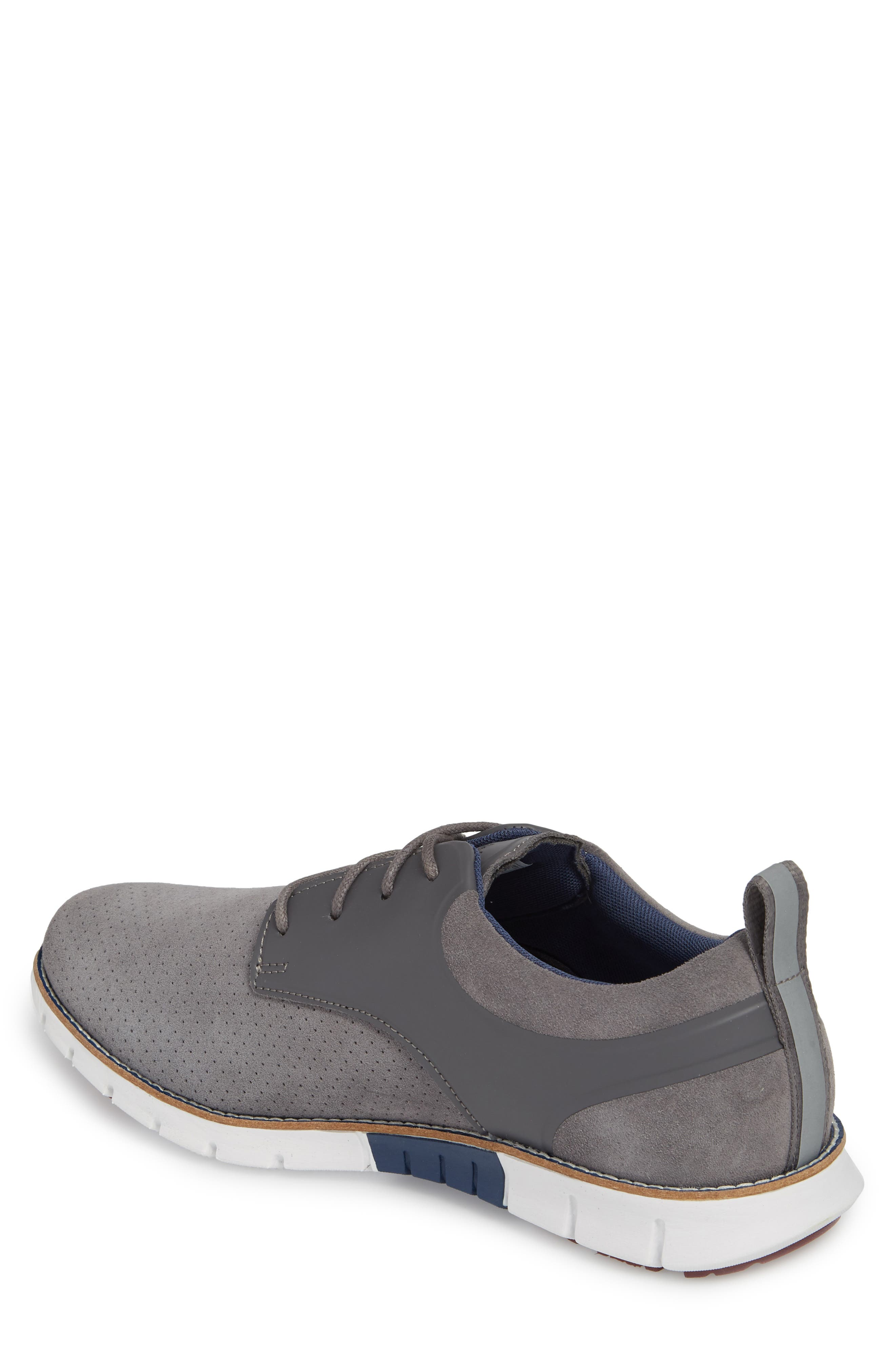 Ridley Perforated Low Top Sneaker,                             Alternate thumbnail 2, color,                             020