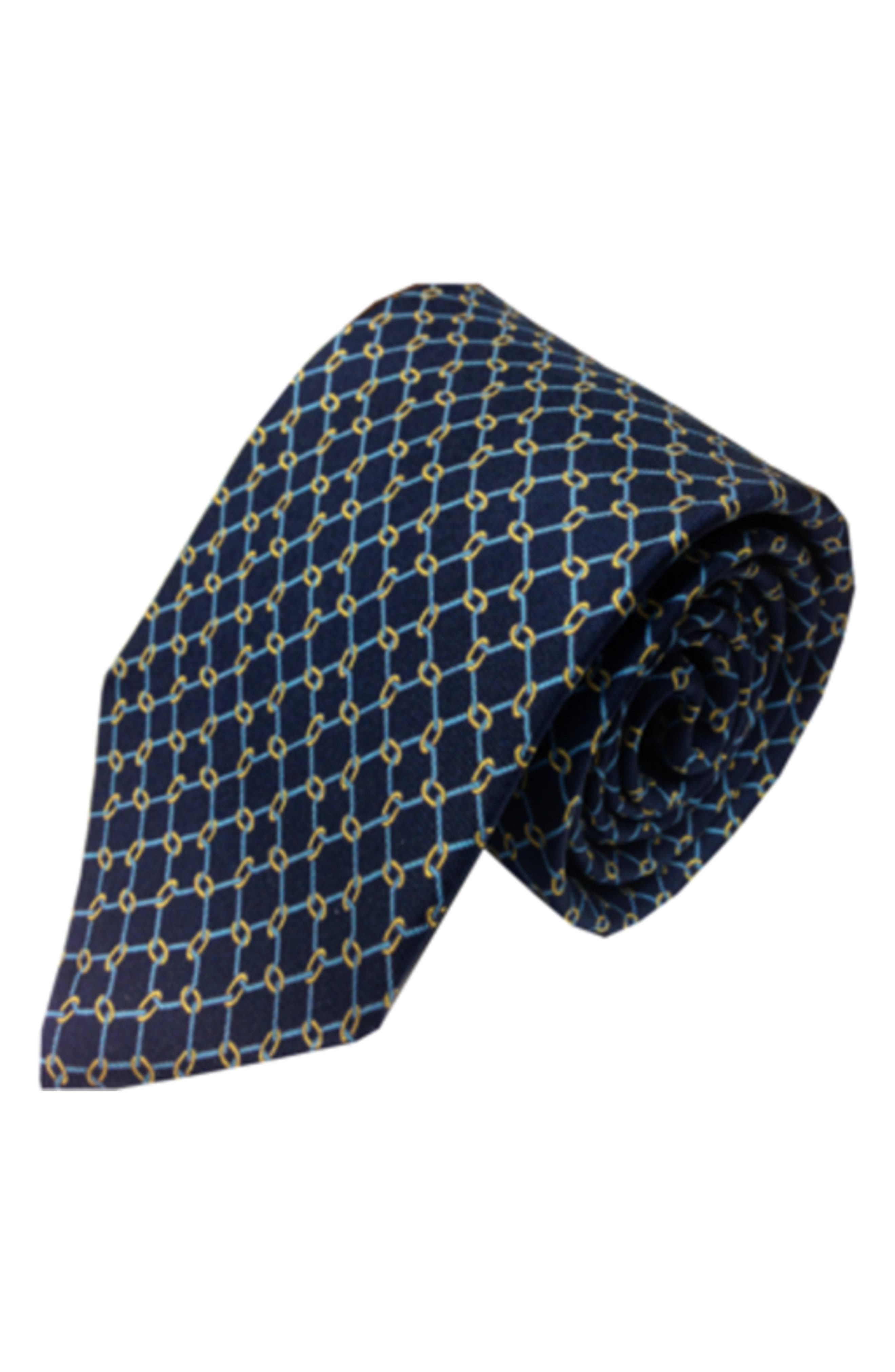 Ball & Chain Silk Tie,                         Main,                         color, 410