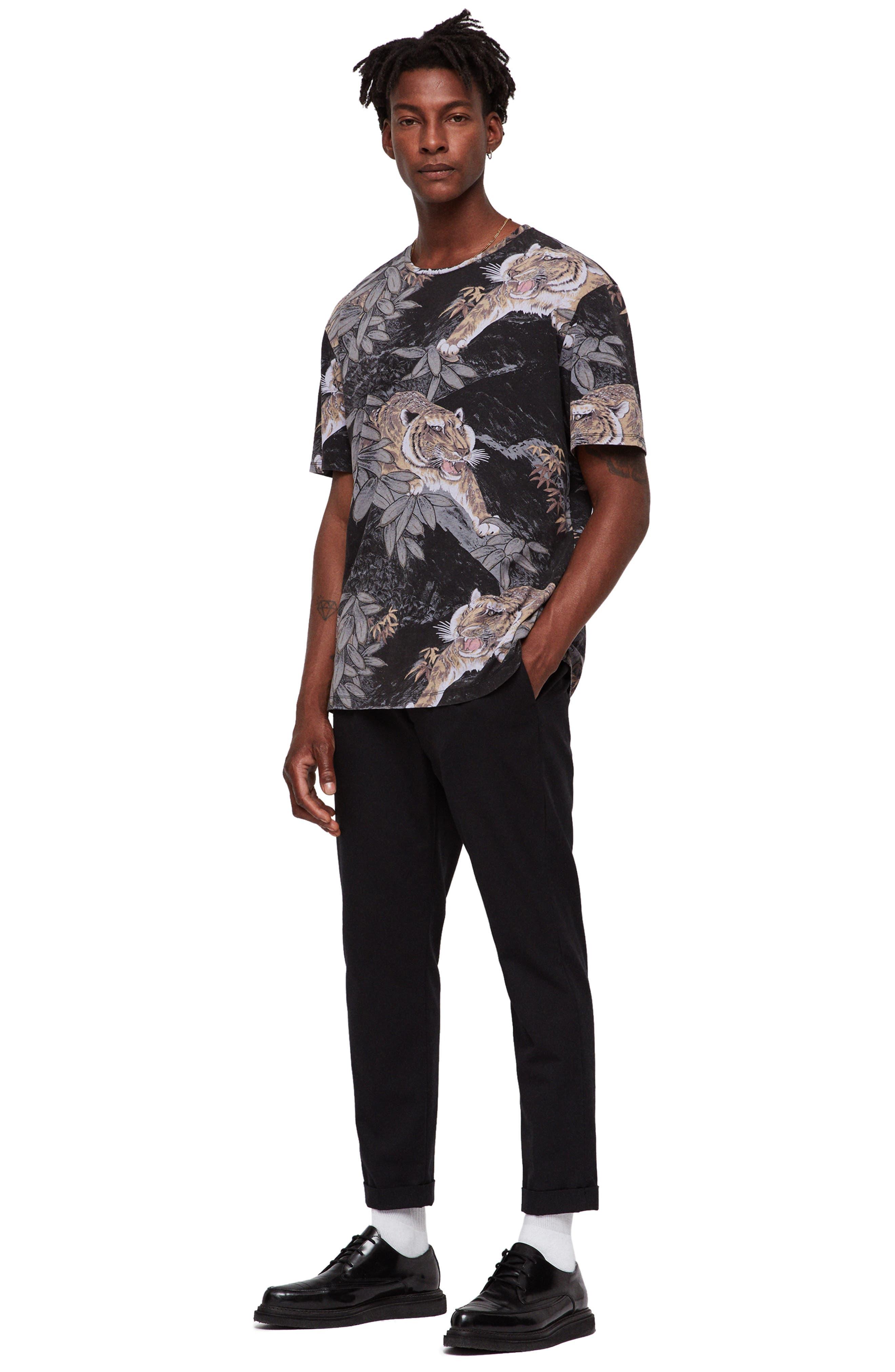 Chokai Slim Fit T-Shirt,                             Alternate thumbnail 7, color,                             VINTAGE BLACK