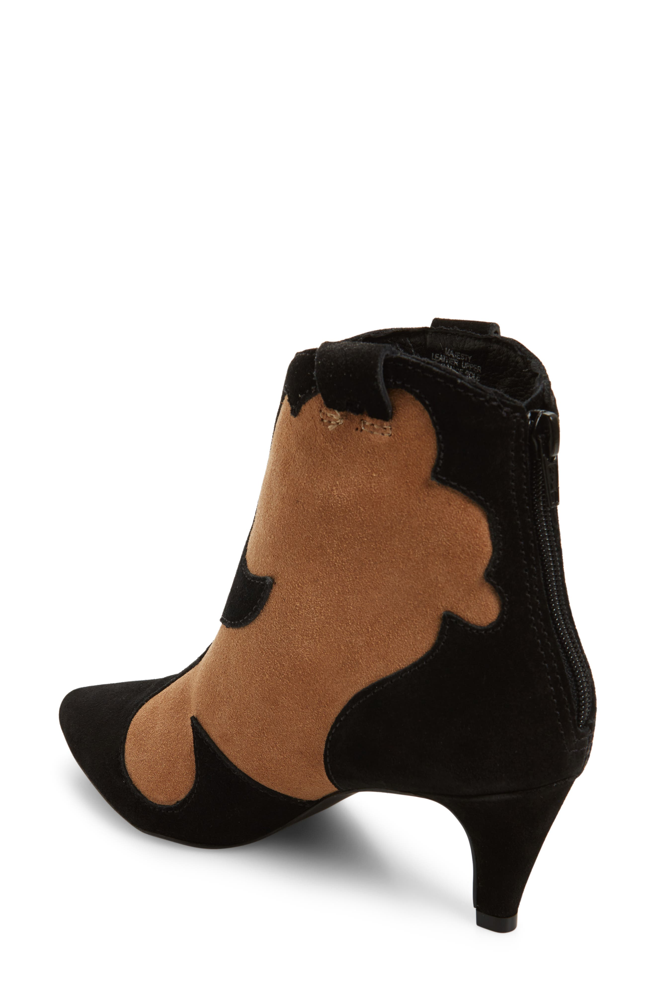 Majesty Two-Tone Bootie,                             Alternate thumbnail 2, color,