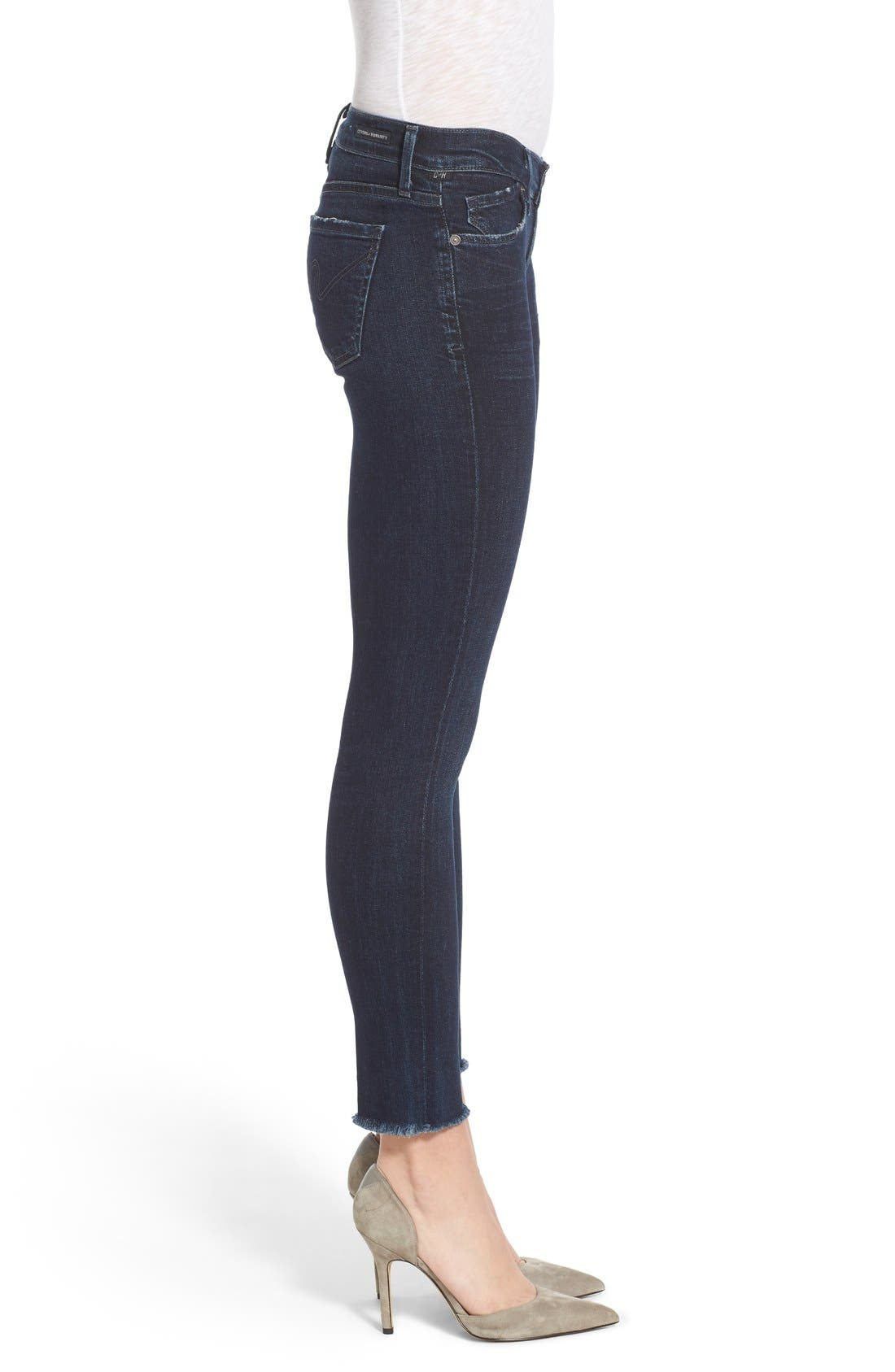 CITIZENS OF HUMANITY,                             Cutoff Ankle Skinny Jeans,                             Alternate thumbnail 3, color,                             408