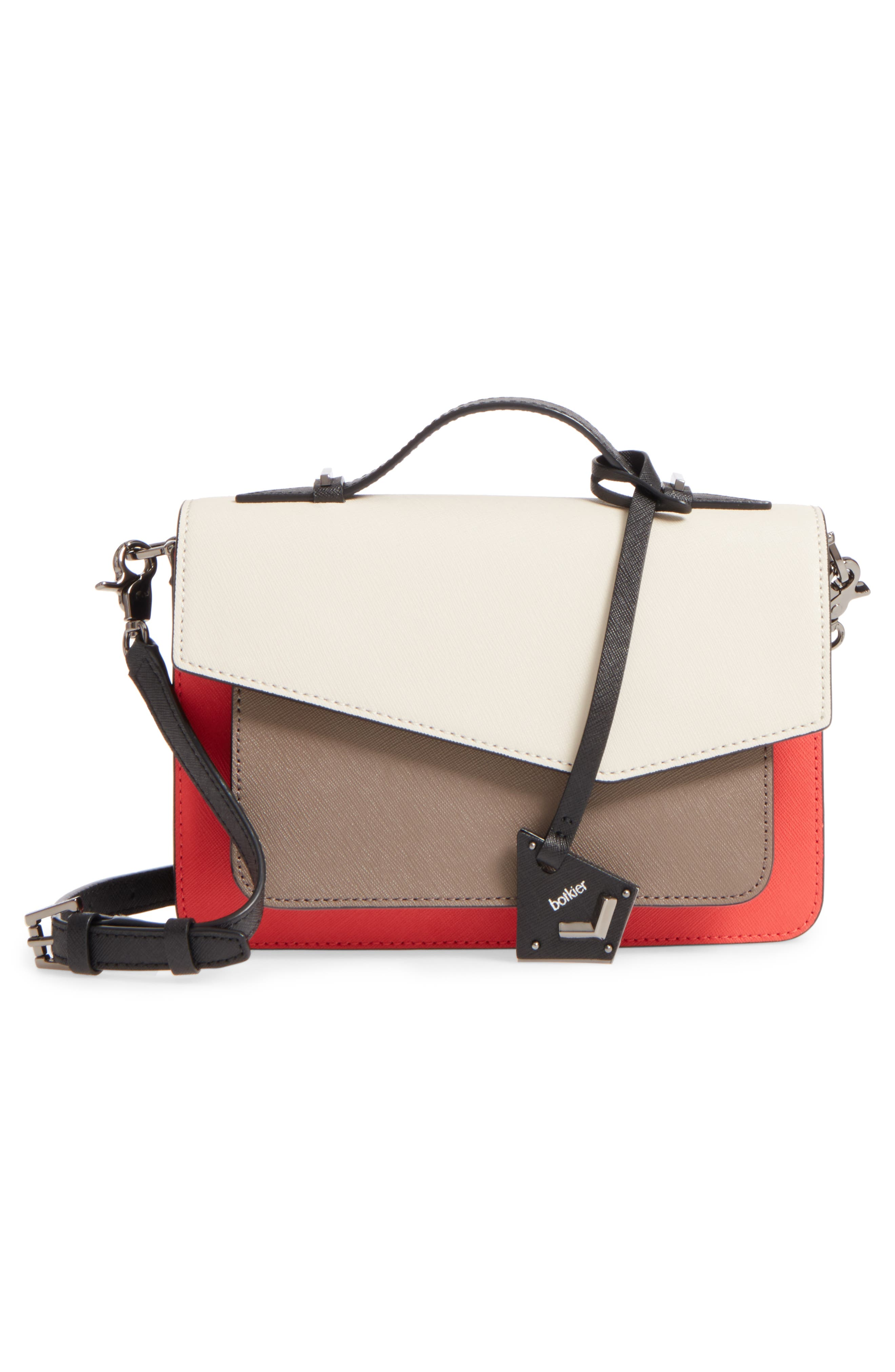 Cobble Hill Leather Crossbody Bag,                             Alternate thumbnail 99, color,
