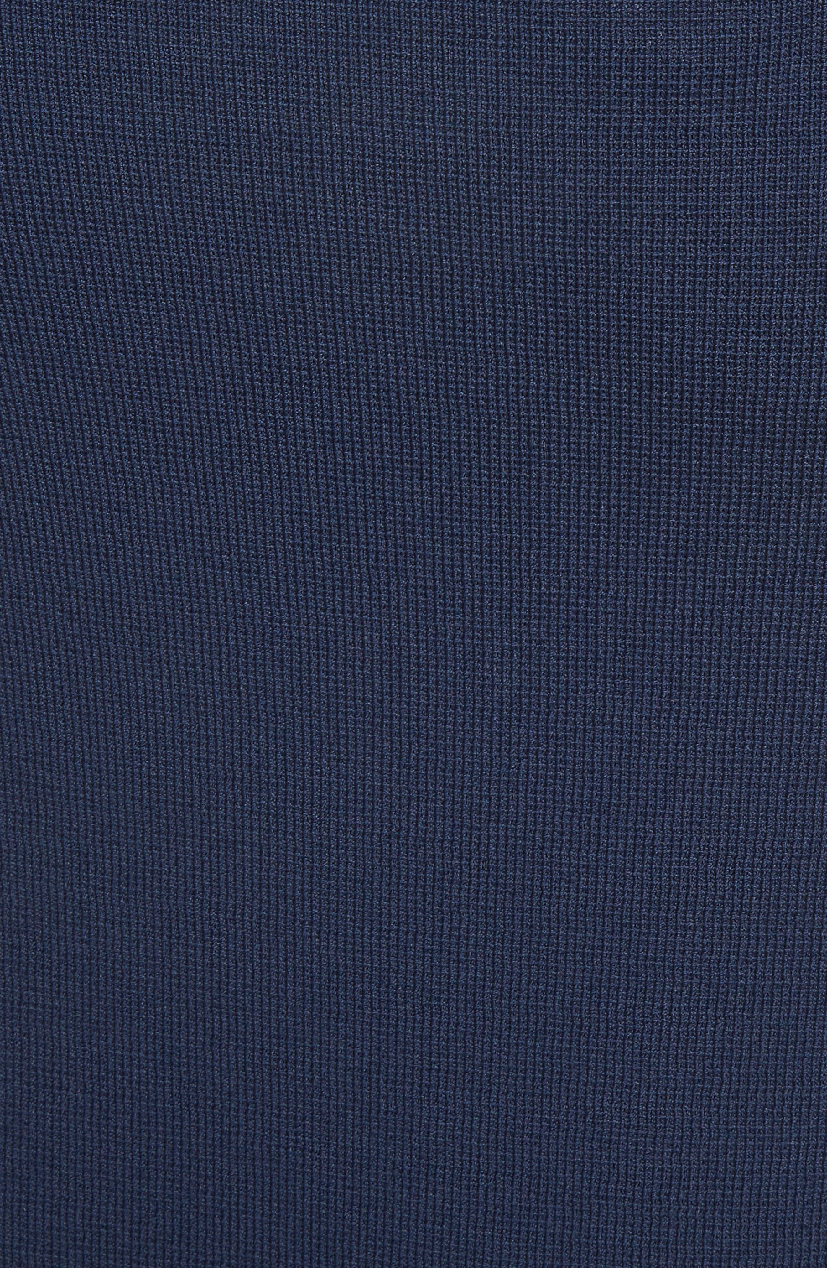 Button Detail Knit Pencil Skirt,                             Alternate thumbnail 5, color,