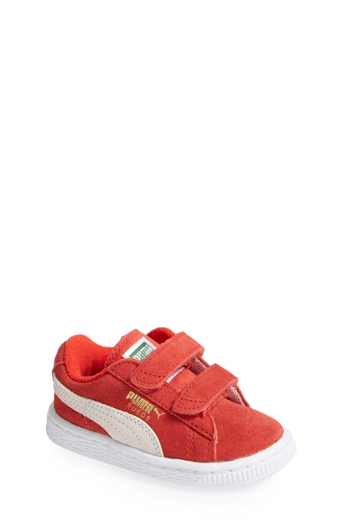 Suede Sneaker,                             Main thumbnail 8, color,