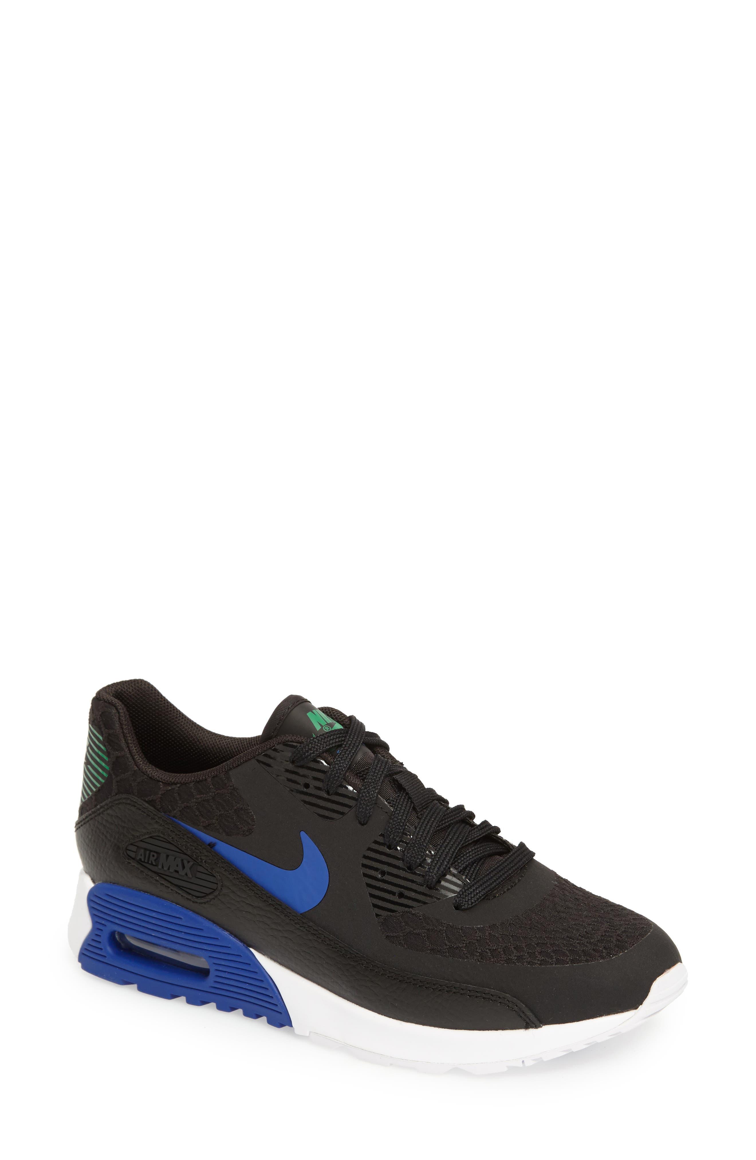 Air Max 90 Ultra 2.0 Sneaker,                             Main thumbnail 1, color,                             001