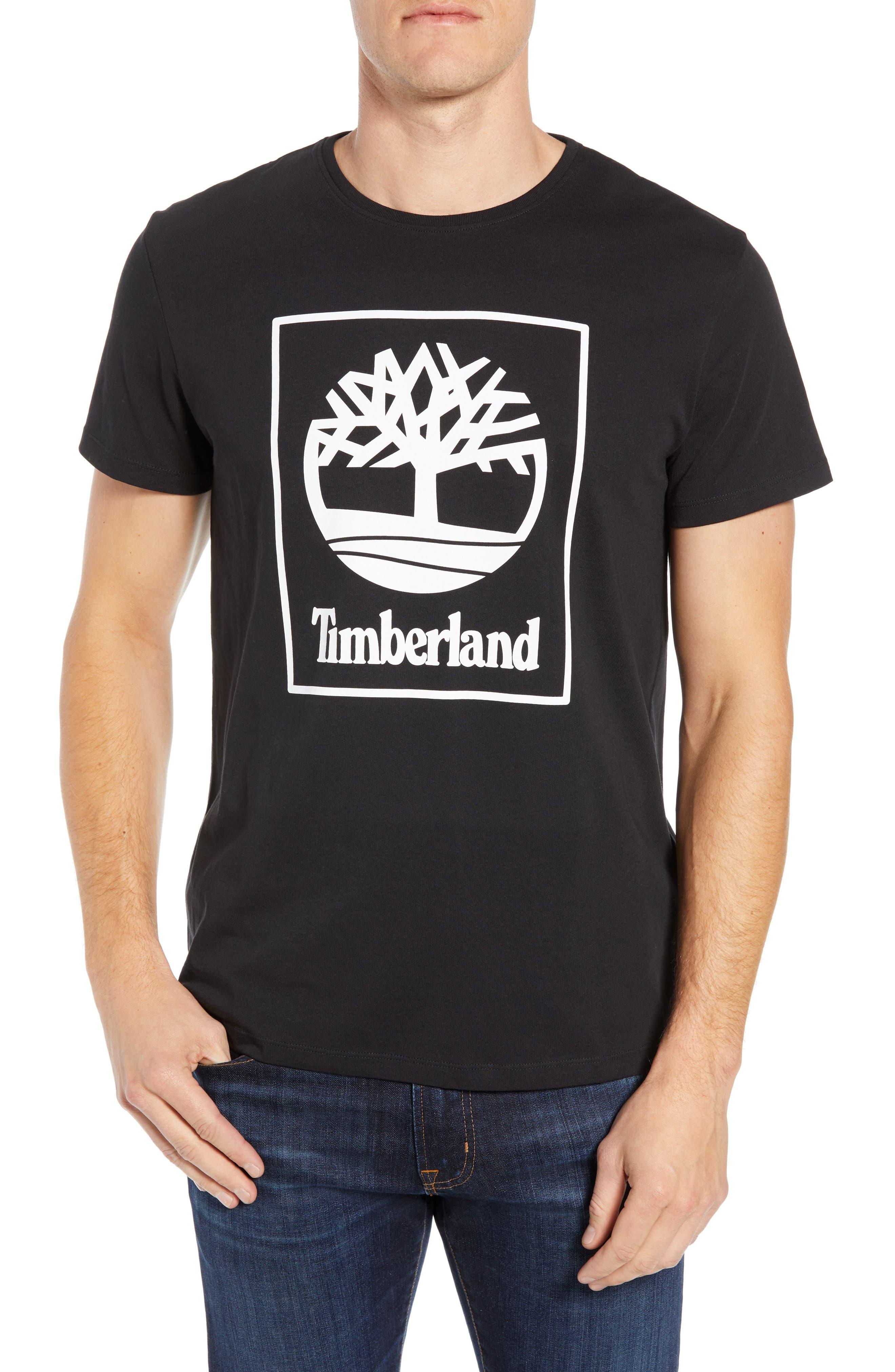 Core Logo T-Shirt,                         Main,                         color, BLACK