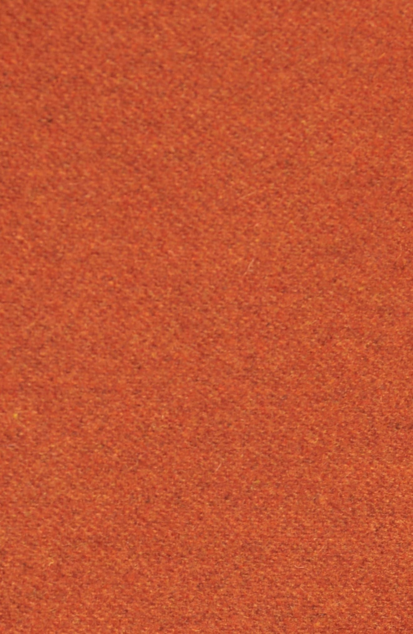 Embellished Slim Wool Blend Peacoat,                             Alternate thumbnail 18, color,