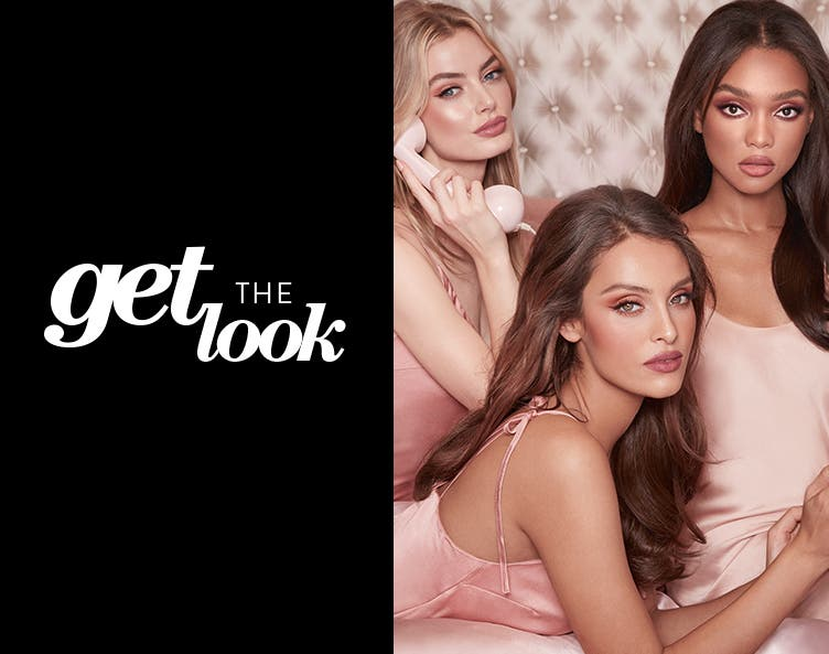 Get the Look / Sweet Dreams: Charlotte Tilbury's Pillow Talk collection.