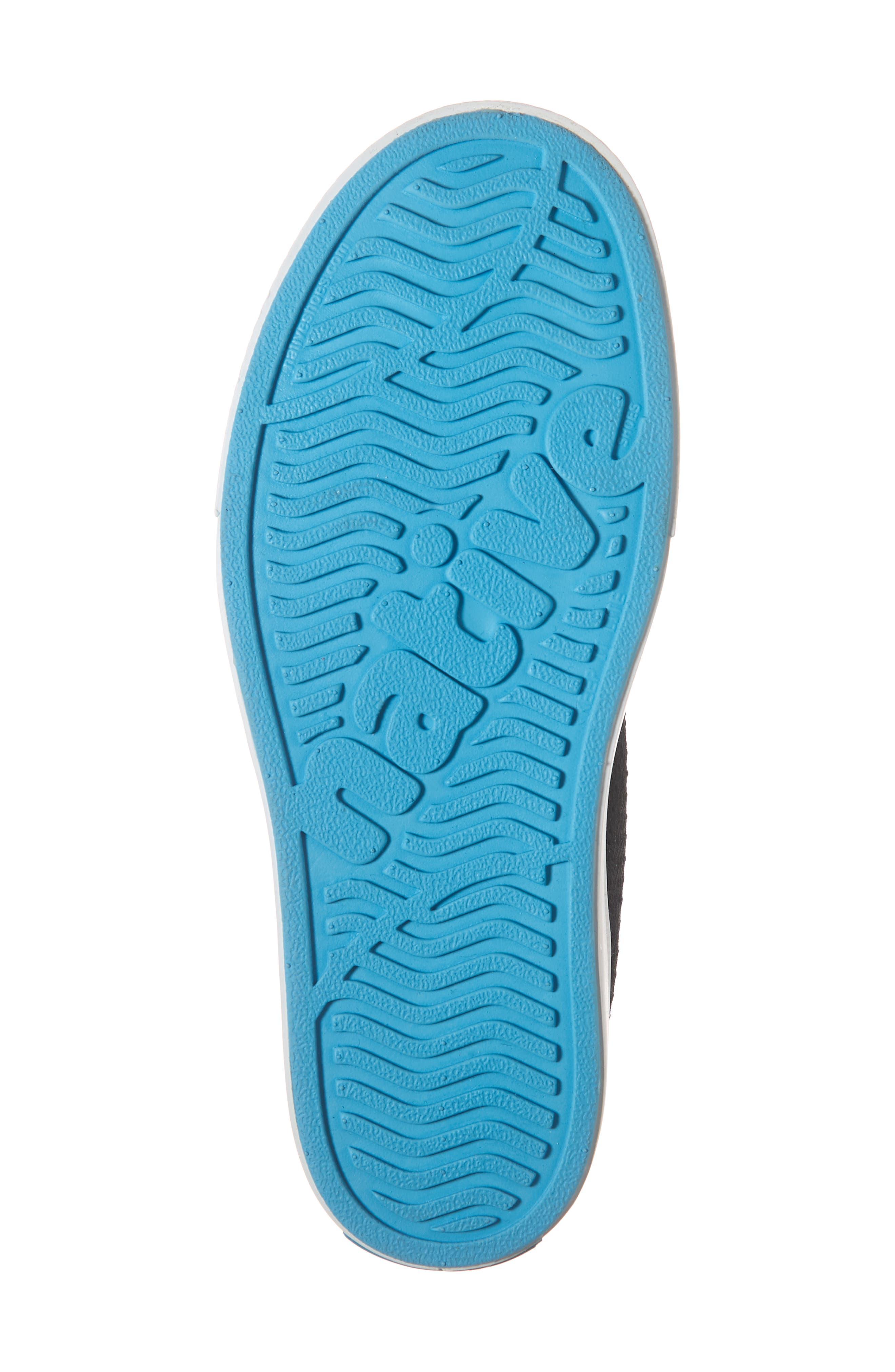 Jefferson 2.0 LiteKnit Vegan High Top Sneaker,                             Alternate thumbnail 6, color,                             JIFFY BLACK/ SHELL WHITE