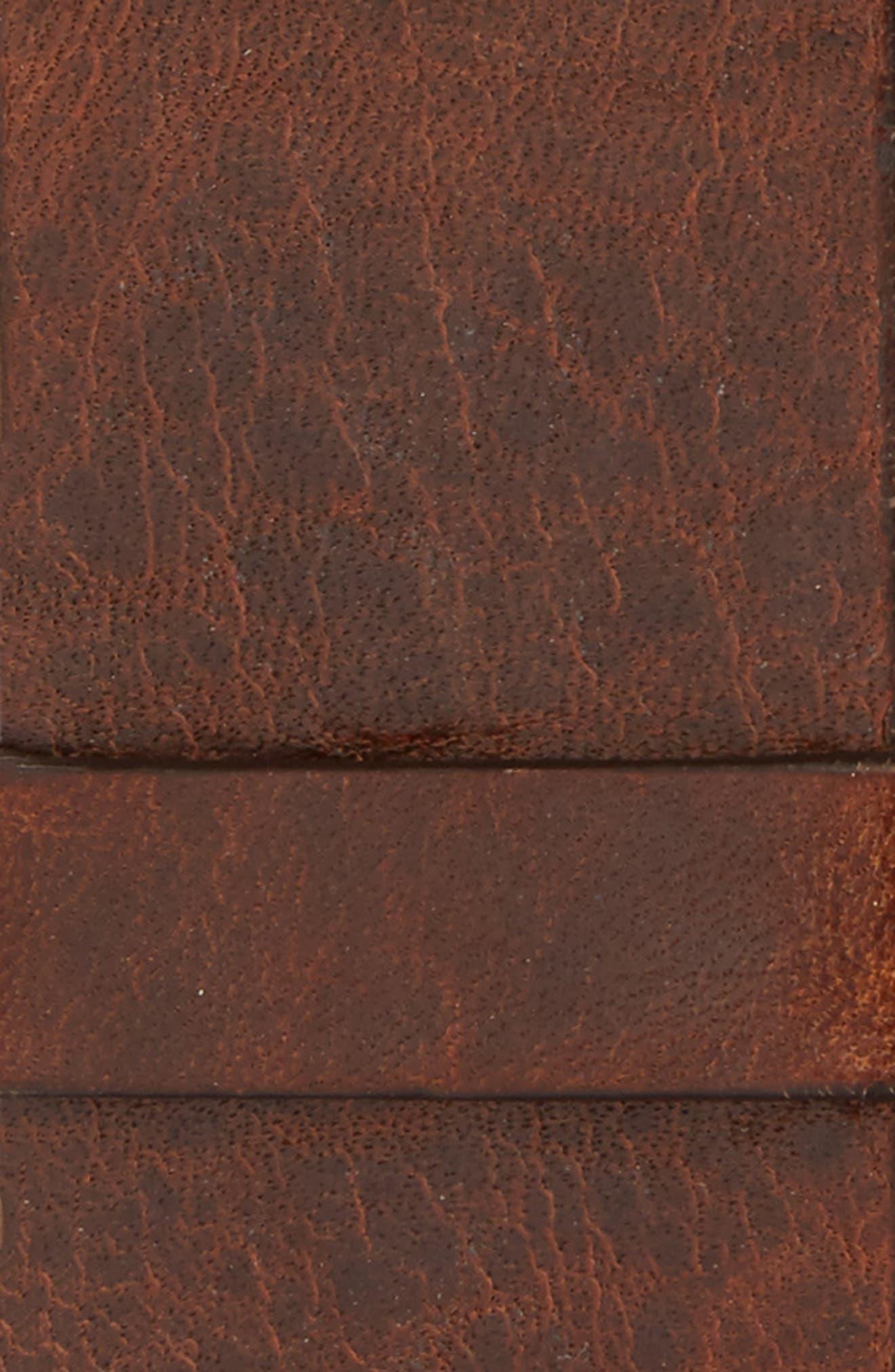 Leather Belt,                             Alternate thumbnail 2, color,                             TAN