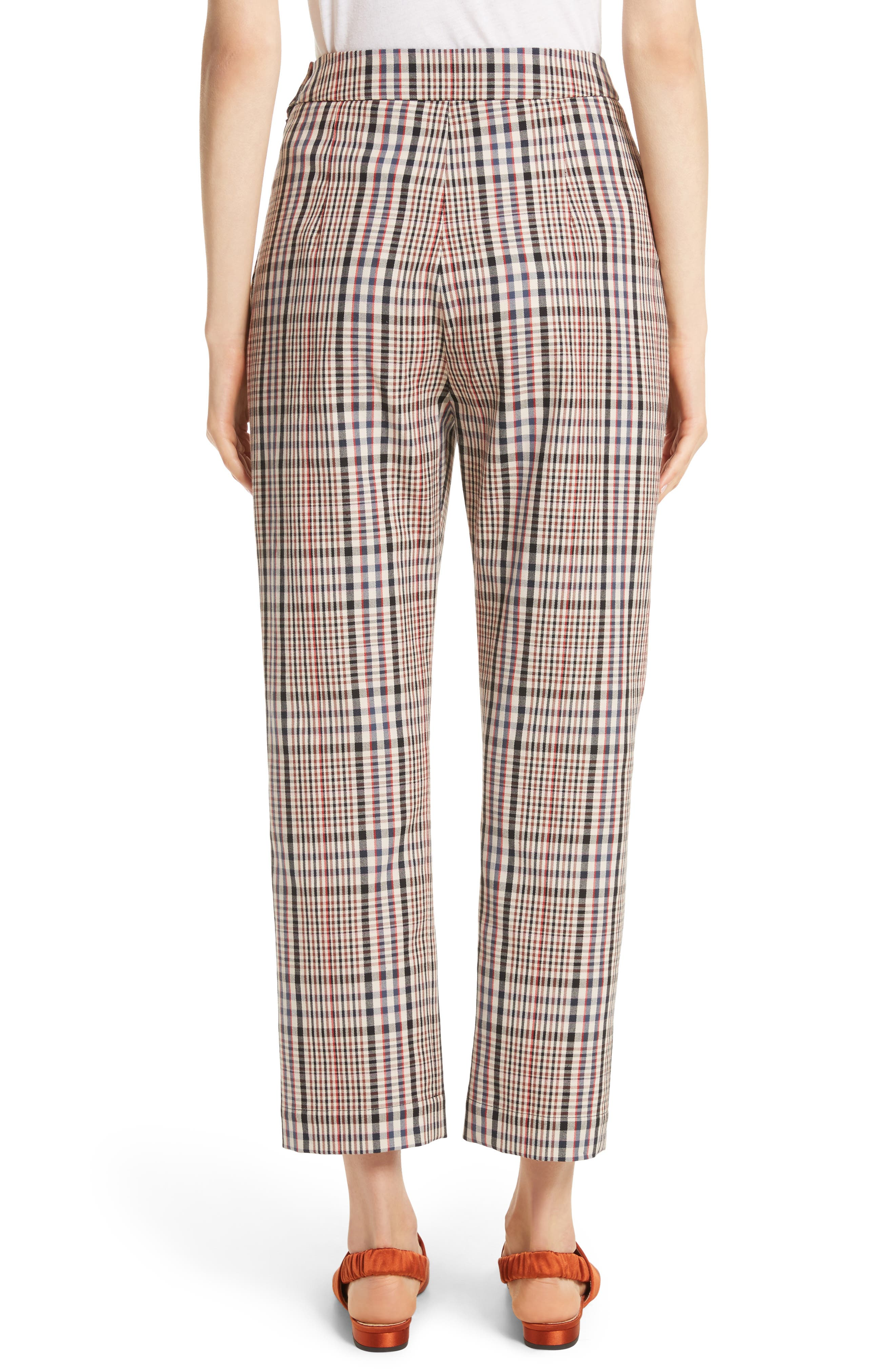 Classic Pantalone Crop Pants,                             Alternate thumbnail 2, color,