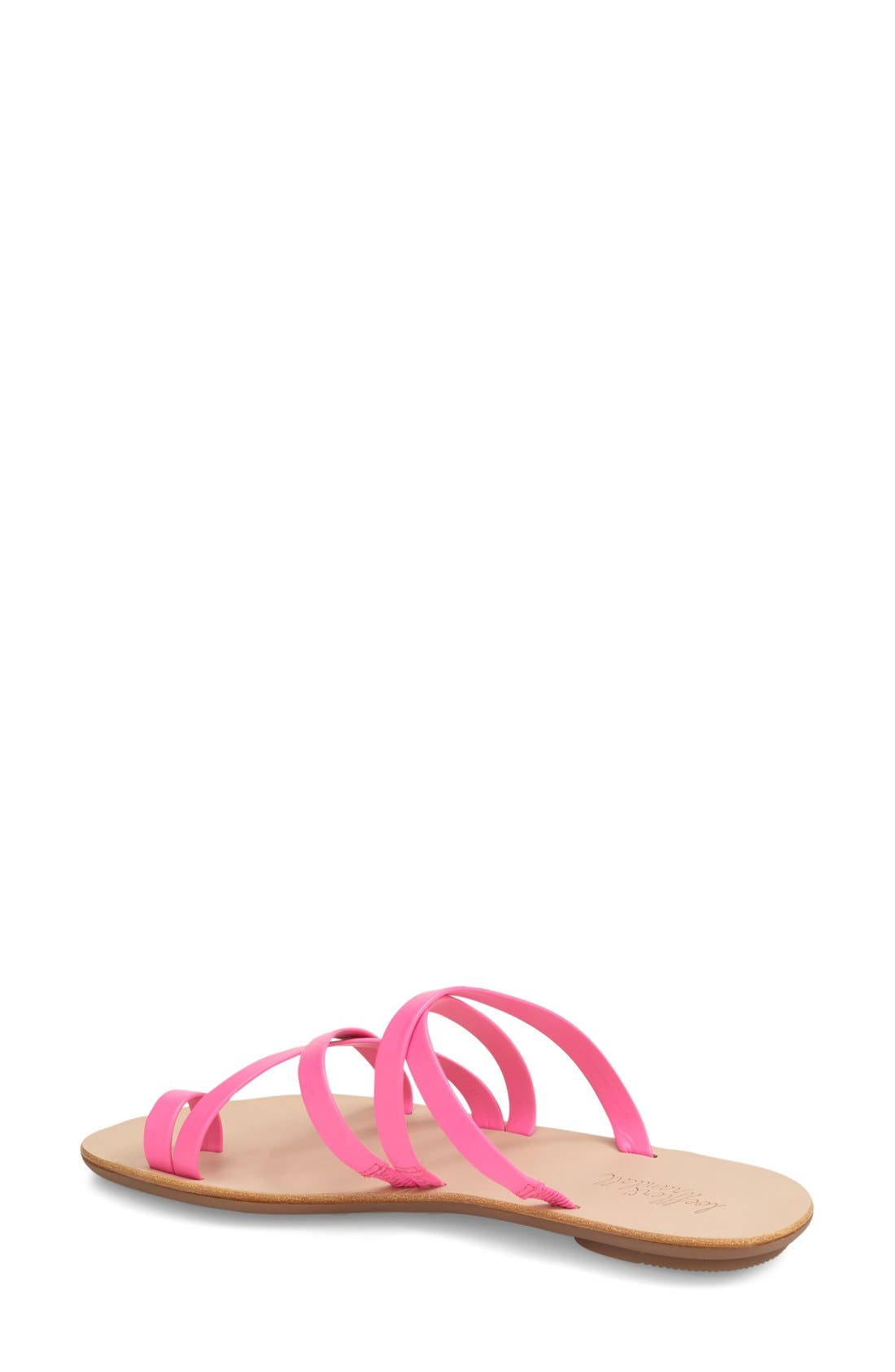 'Sarie' Strappy Flat Sandal,                             Alternate thumbnail 2, color,                             690