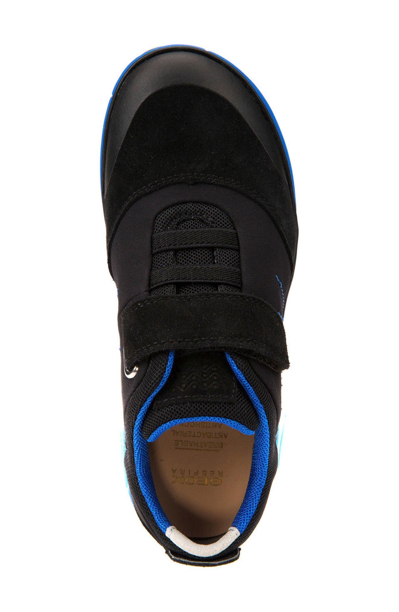 GEOX,                             Nebula Low Top Sneaker,                             Alternate thumbnail 5, color,                             009