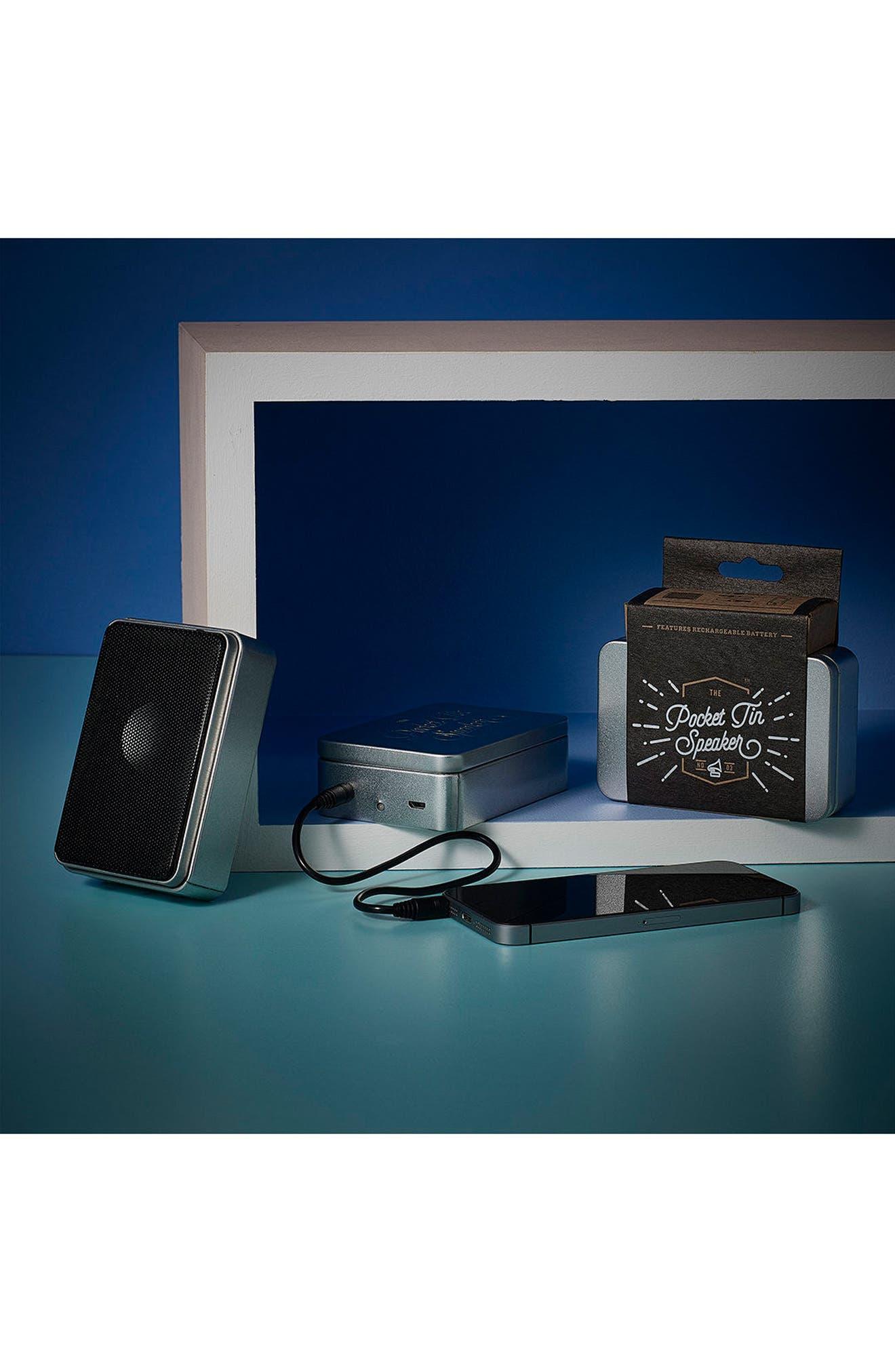 'Pocket Tin' Portable Speaker,                             Alternate thumbnail 4, color,                             040