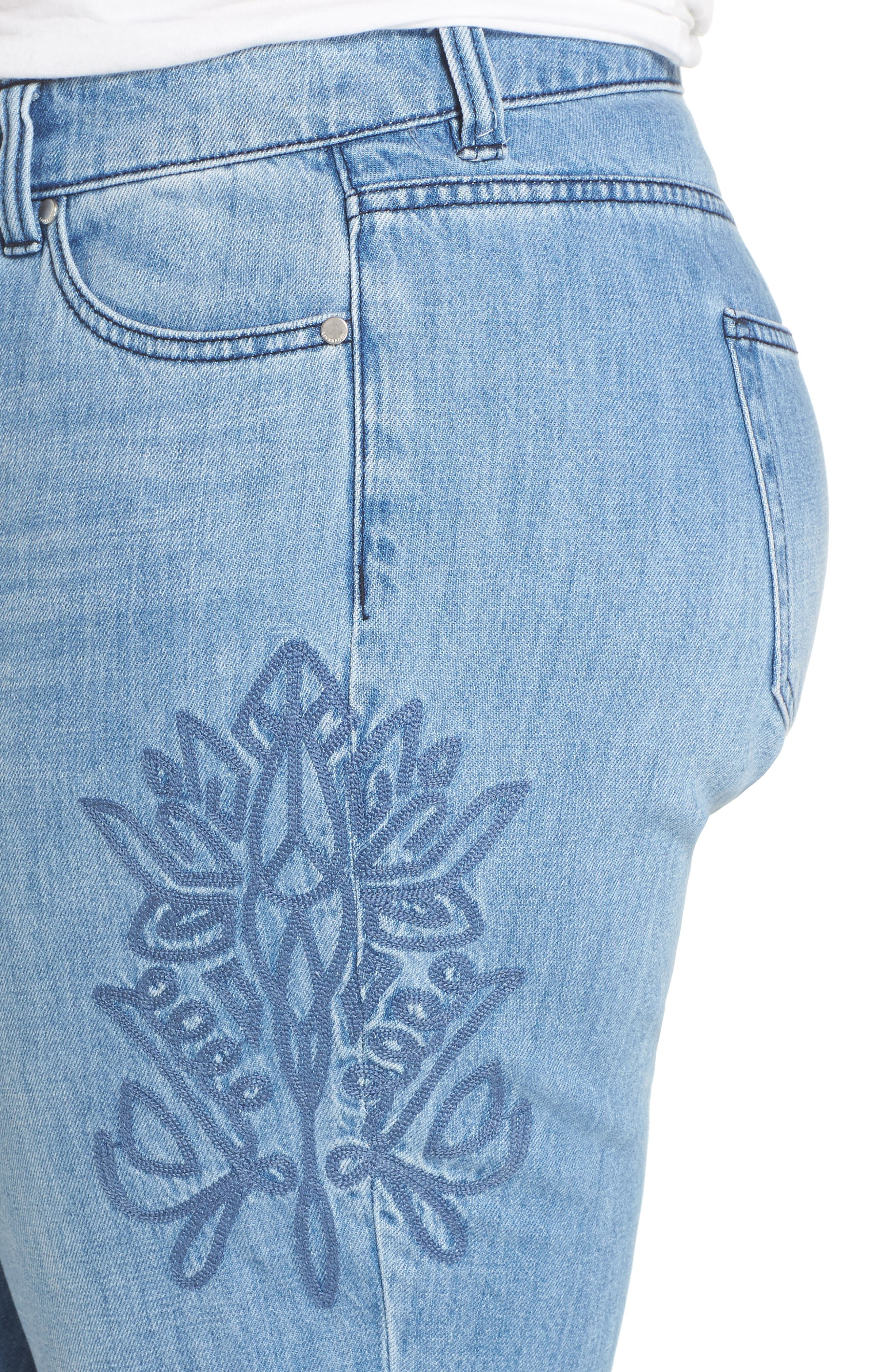 Cameron Crop Boyfriend Jeans,                             Alternate thumbnail 4, color,