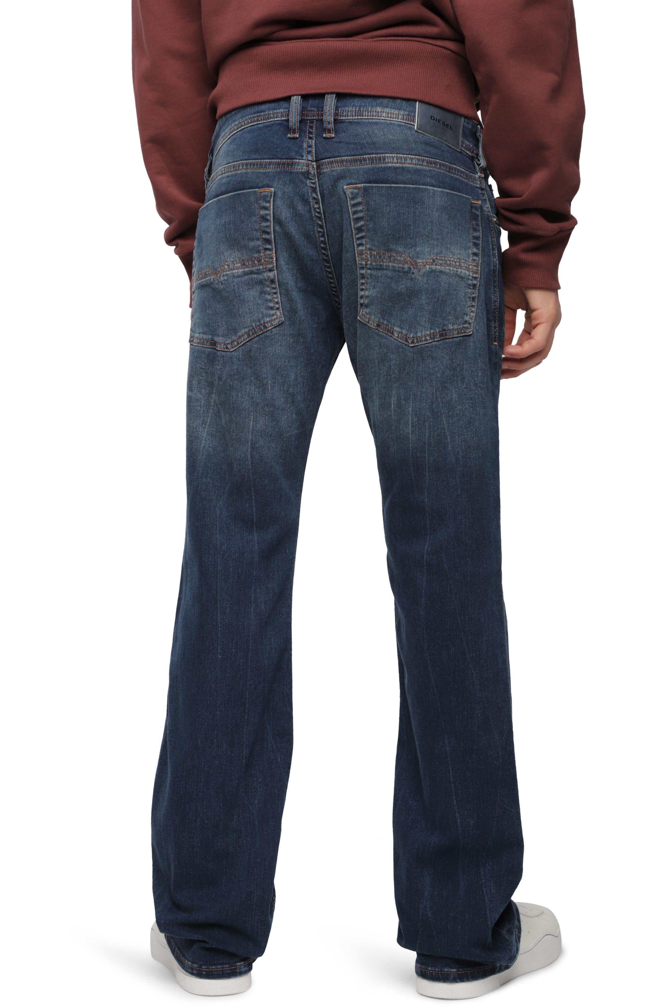 Zatiny Bootcut Jeans,                             Alternate thumbnail 2, color,                             400