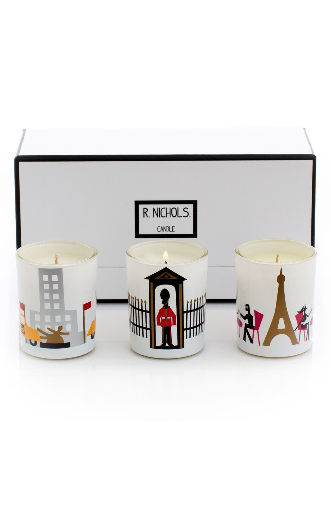 'Jetsetter' Scented Votive Candles,                             Alternate thumbnail 2, color,                             000