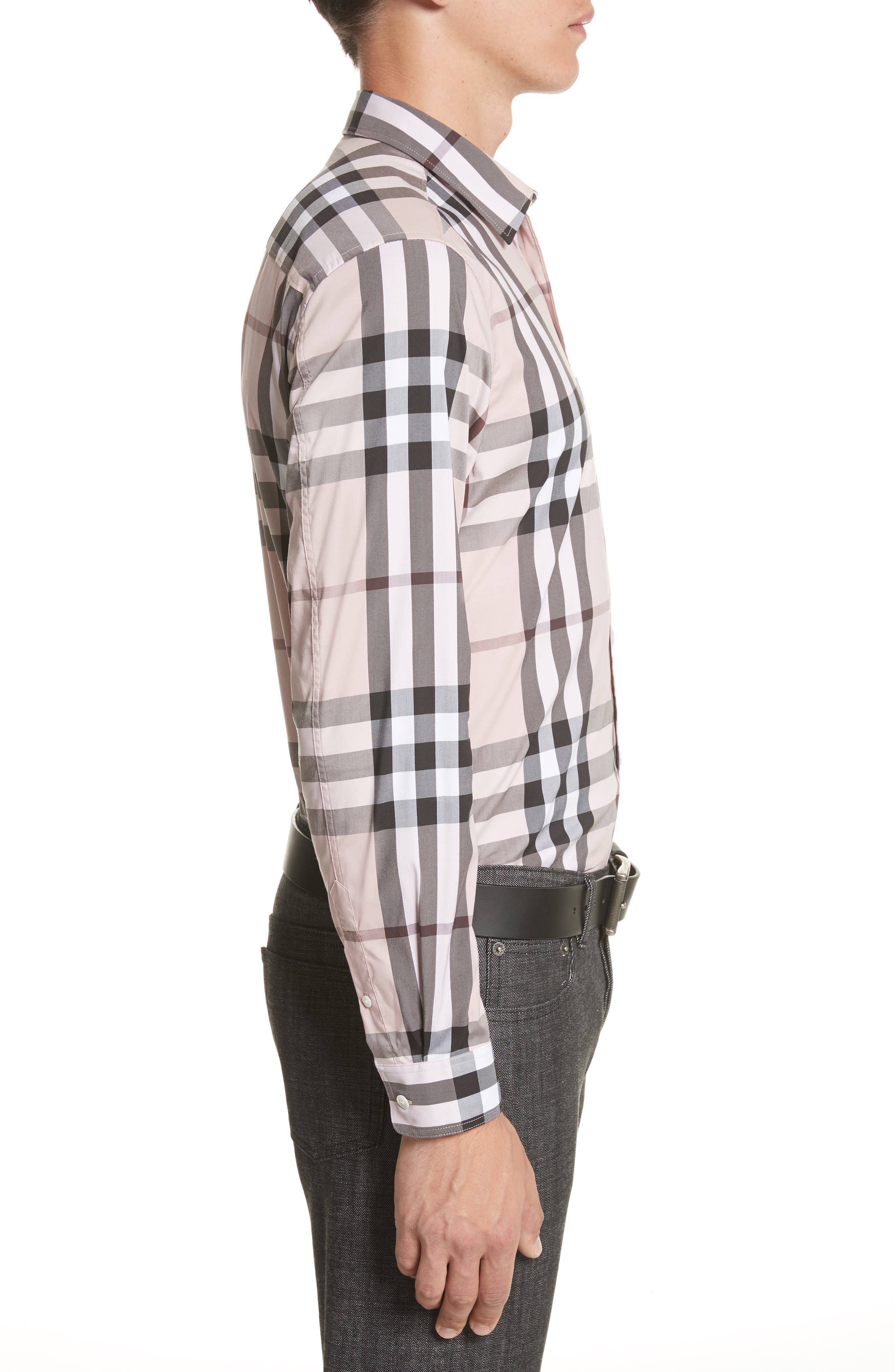 Nelson Check Sport Shirt,                             Alternate thumbnail 74, color,