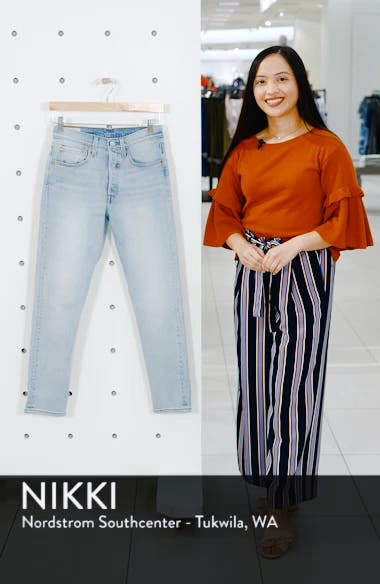 501<sup>®</sup> Ankle Slim Jeans, sales video thumbnail