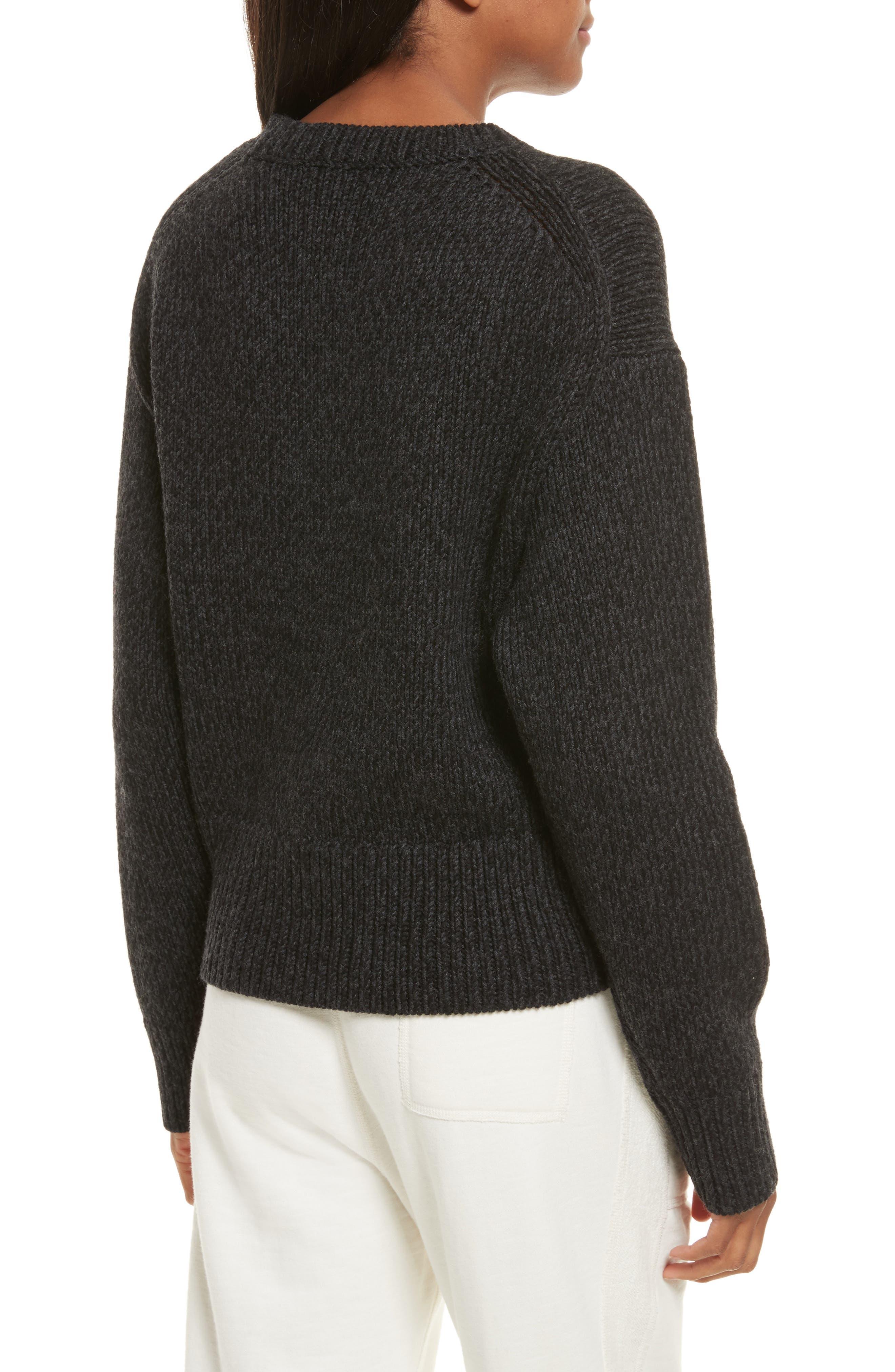 Sheila Crewneck Sweater,                             Alternate thumbnail 2, color,                             020