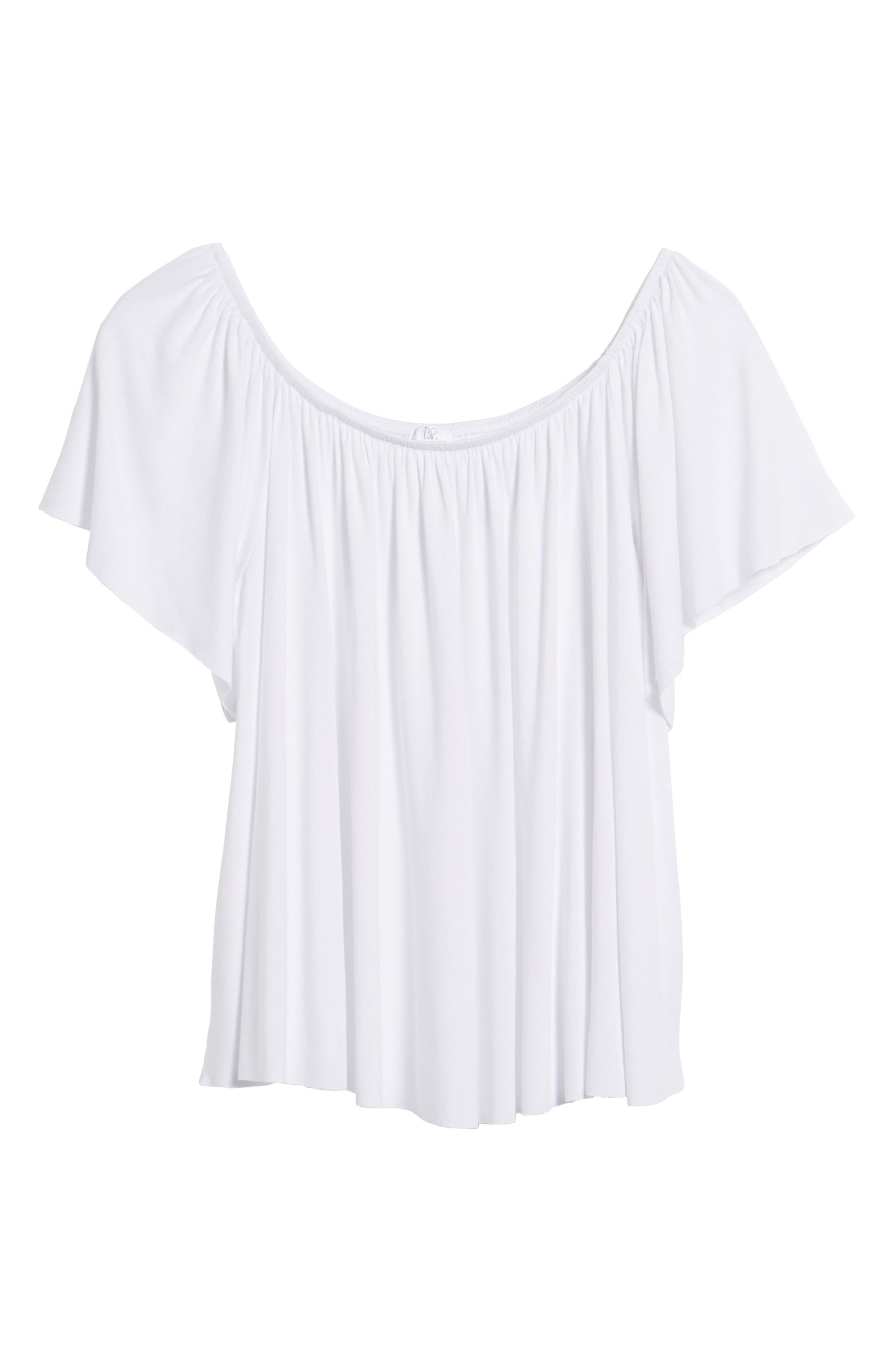 Off the Shoulder Top,                             Alternate thumbnail 41, color,