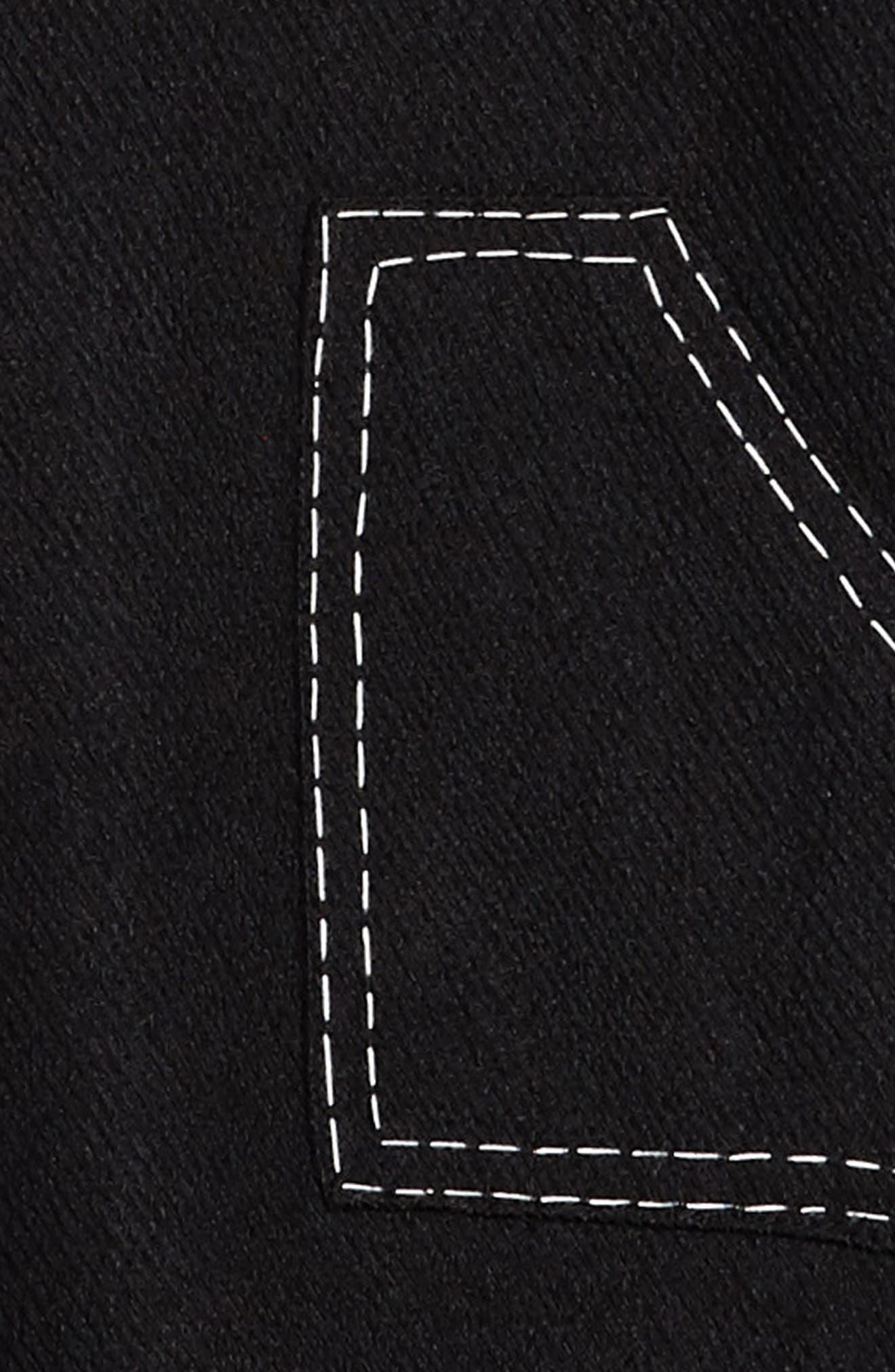 Mod Sleeveless Shift Dress,                             Alternate thumbnail 3, color,                             001
