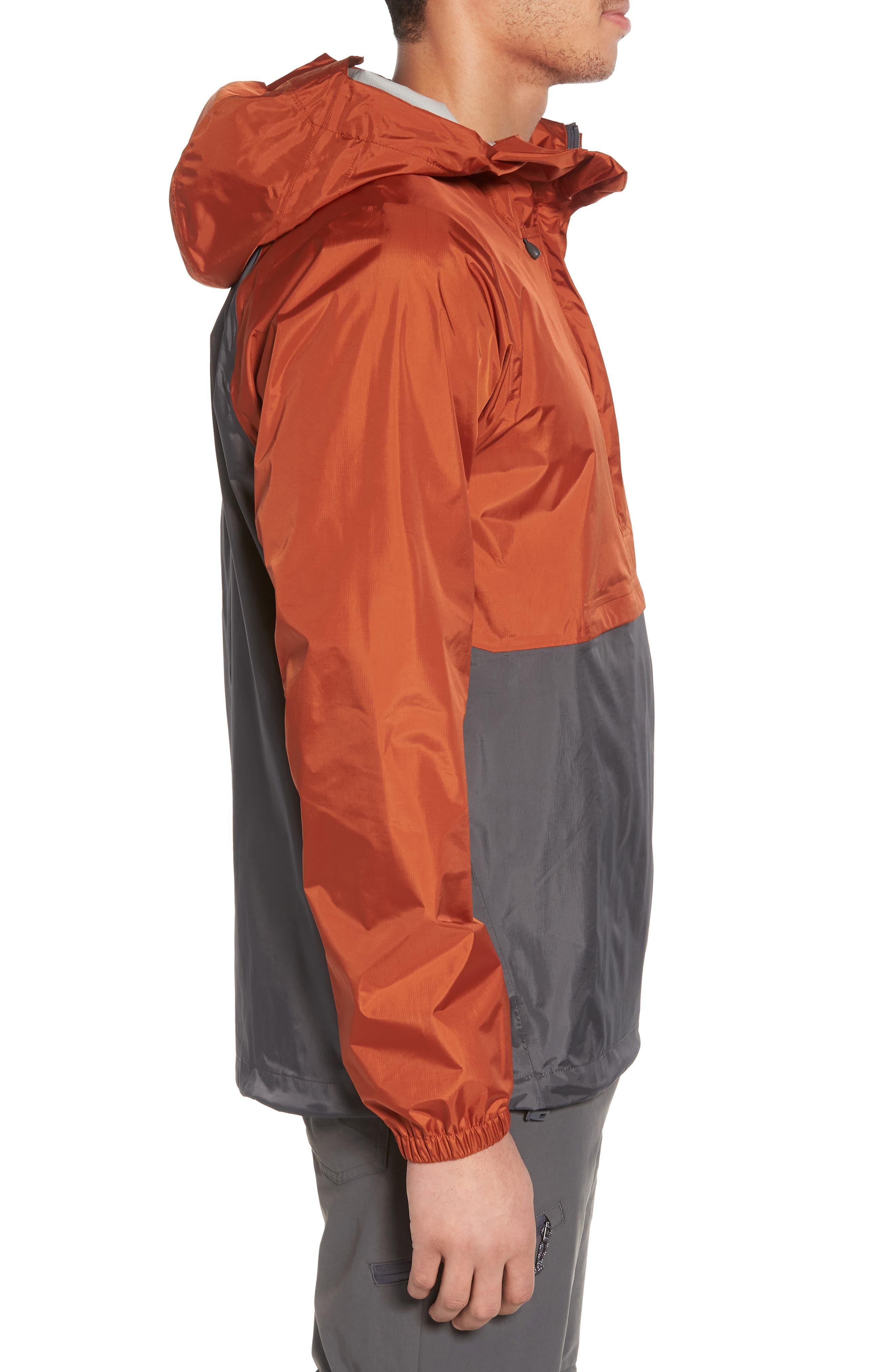 Torrentshell Packable Regular Fit Rain Jacket,                             Alternate thumbnail 3, color,                             COPPER ORE