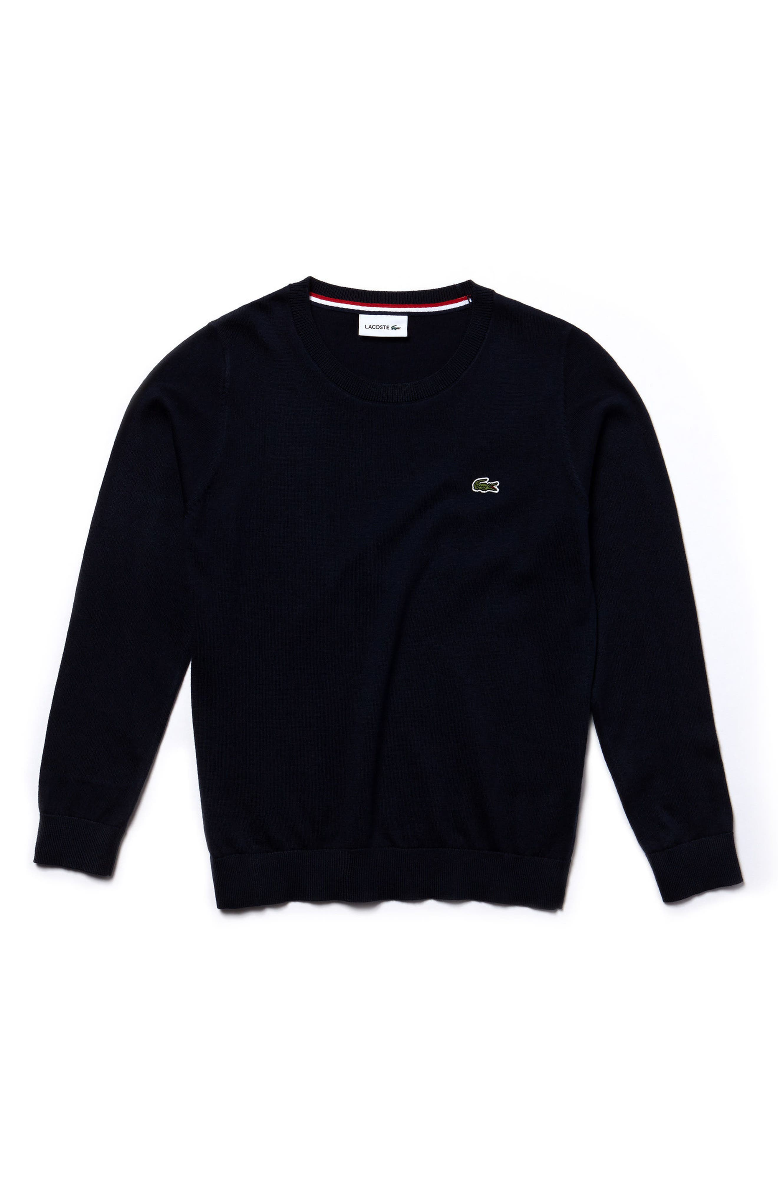 Jersey Crewneck Sweater,                             Main thumbnail 1, color,                             410