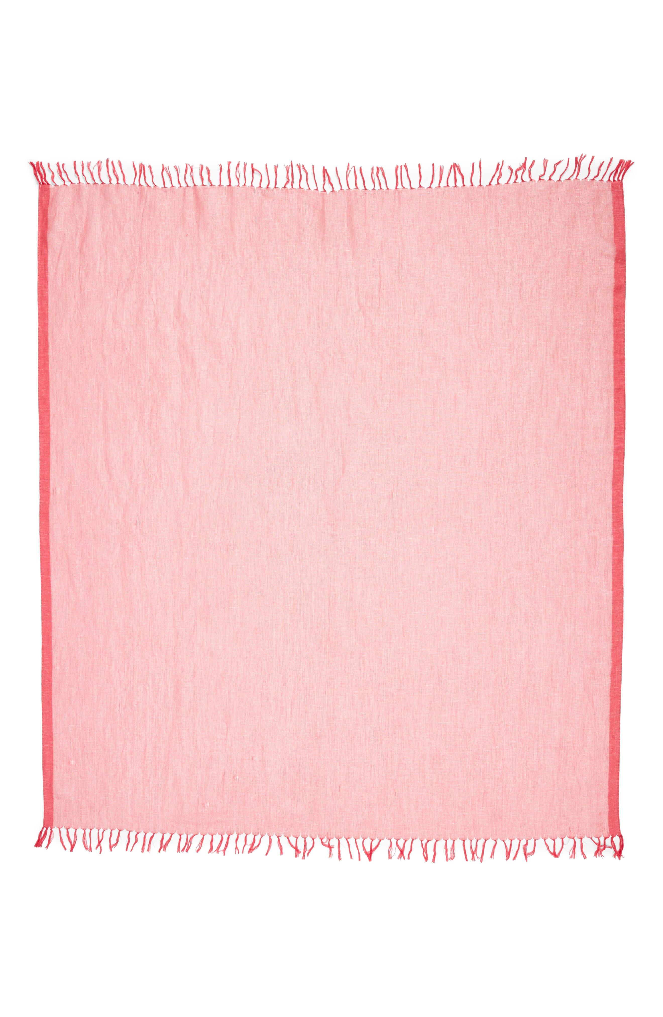 Cross Dyed Linen Blend Scarf,                             Alternate thumbnail 12, color,