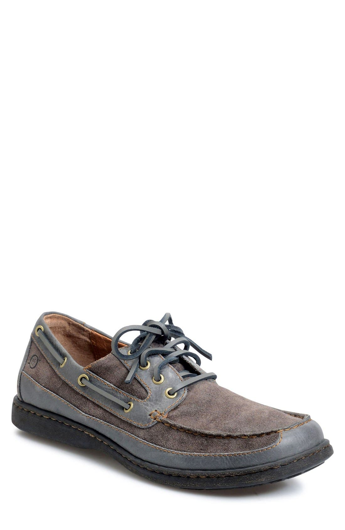 'Harwich' Boat Shoe,                             Main thumbnail 1, color,                             020