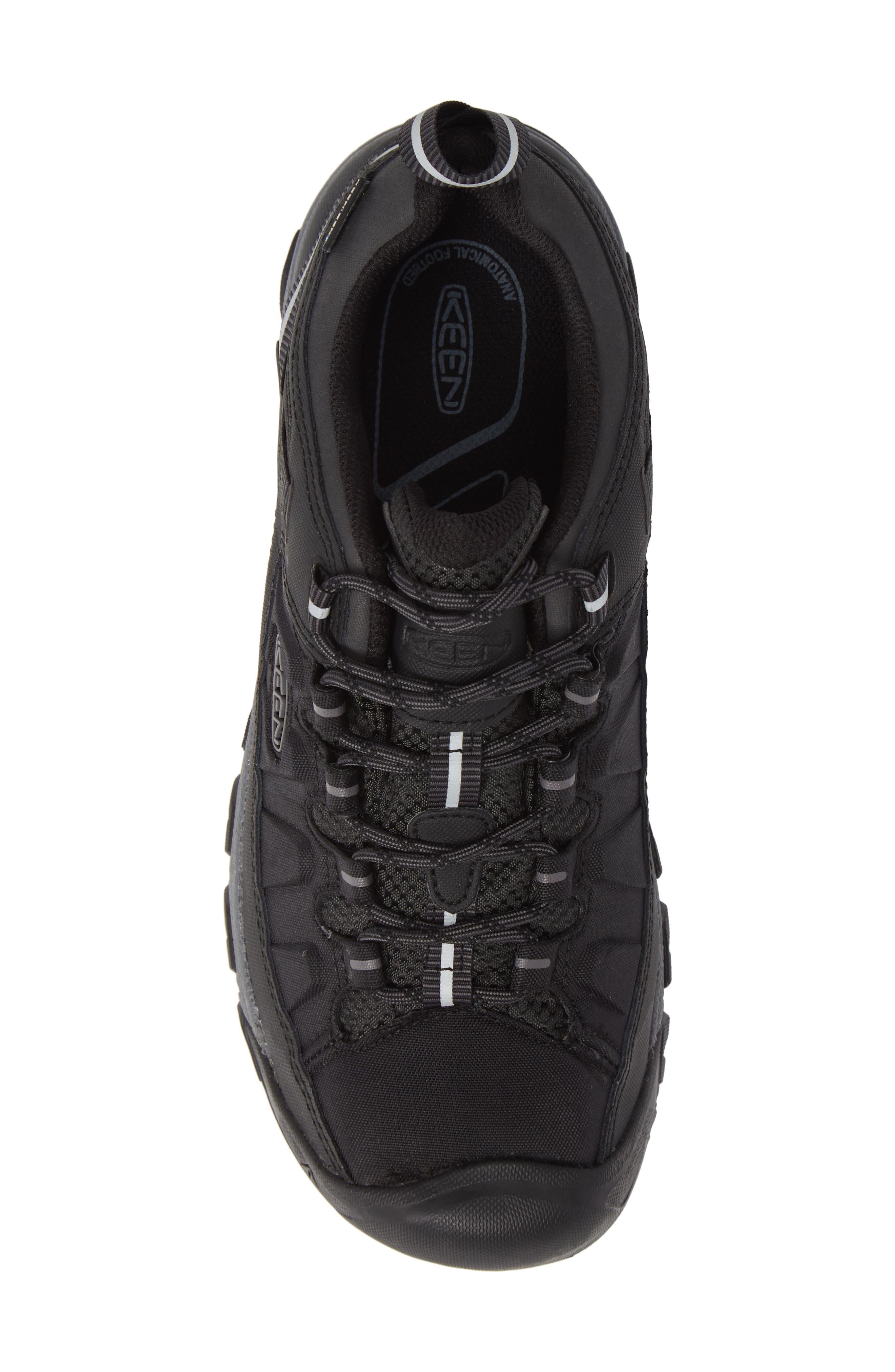 Targhee EXP Waterproof Hiking Shoe,                             Alternate thumbnail 5, color,                             BLACK/ STEEL GREY