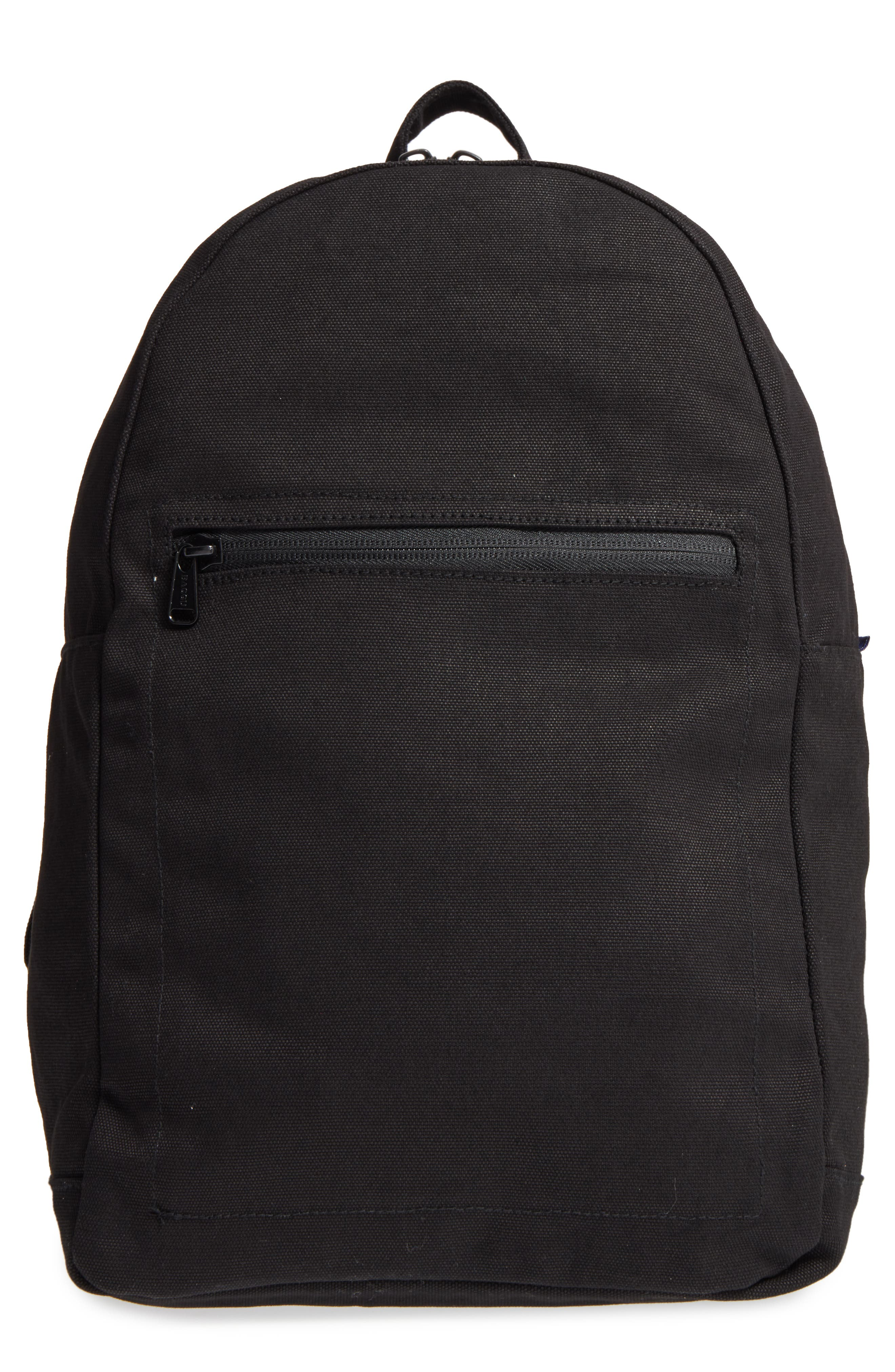 Canvas Backpack,                         Main,                         color, 001