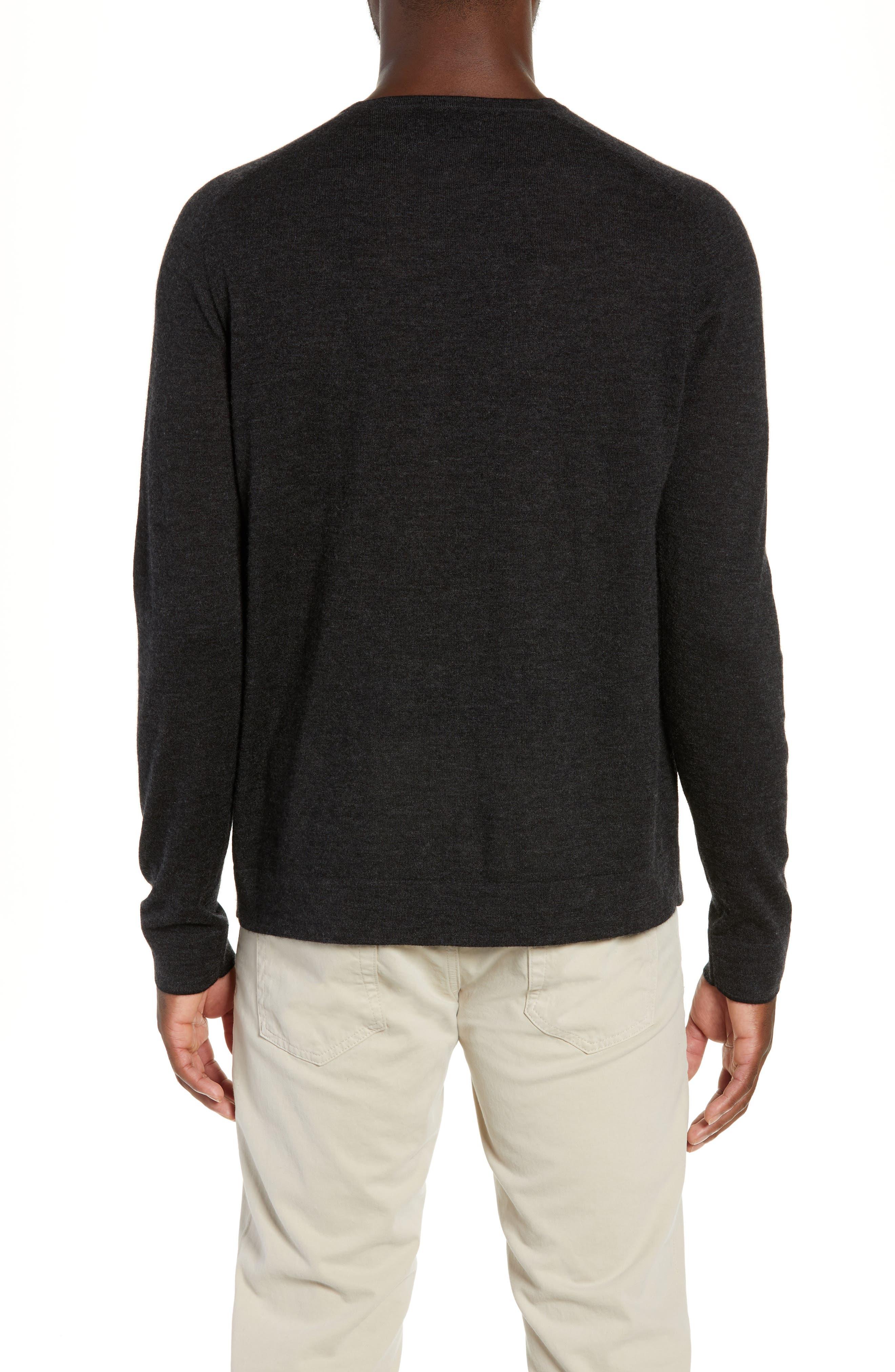 NORDSTROM SIGNATURE,                             Cashmere Crewneck Sweater,                             Alternate thumbnail 2, color,                             030