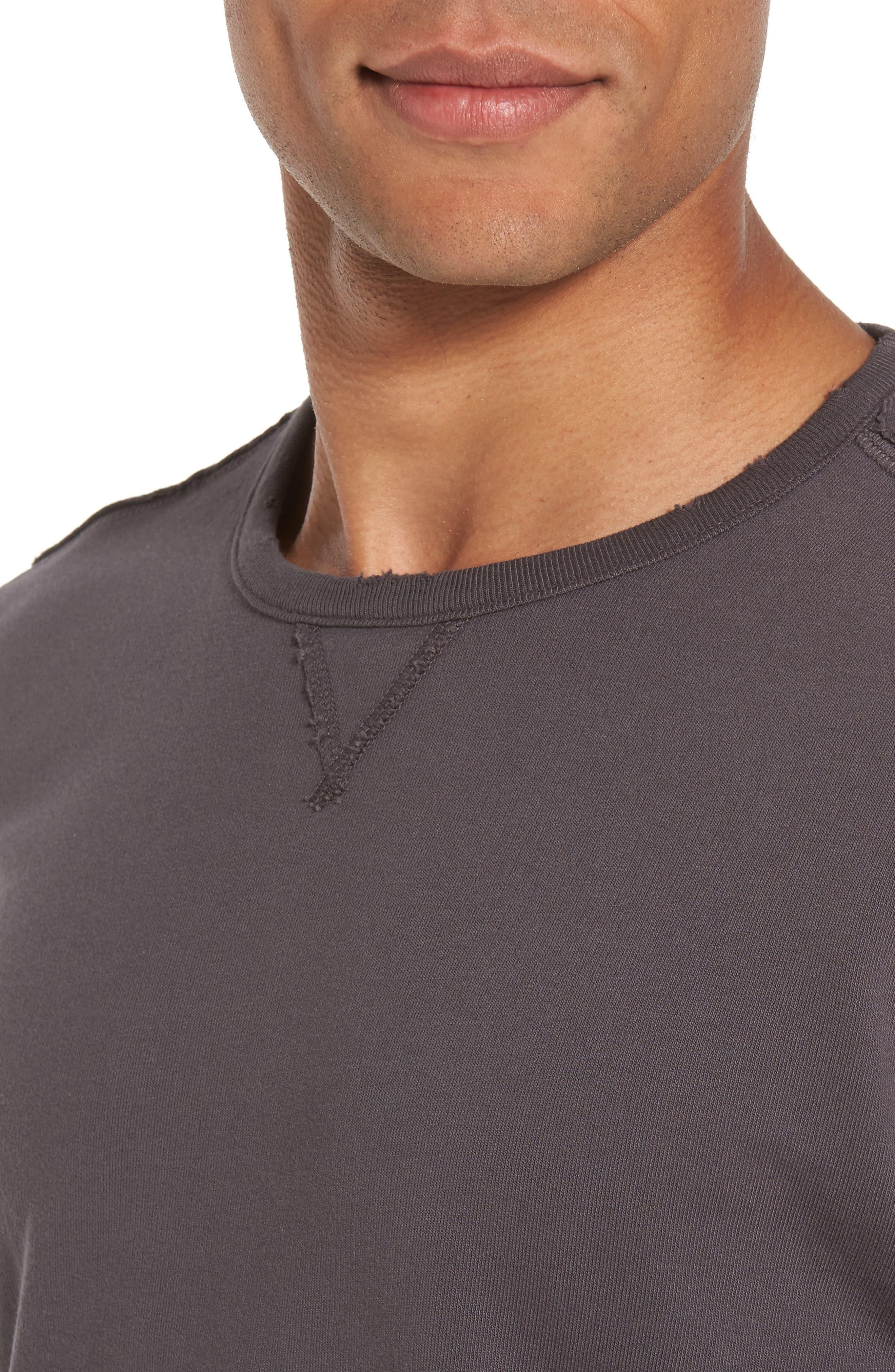 Tyson Slim Fit Sweatshirt,                             Alternate thumbnail 4, color,                             022