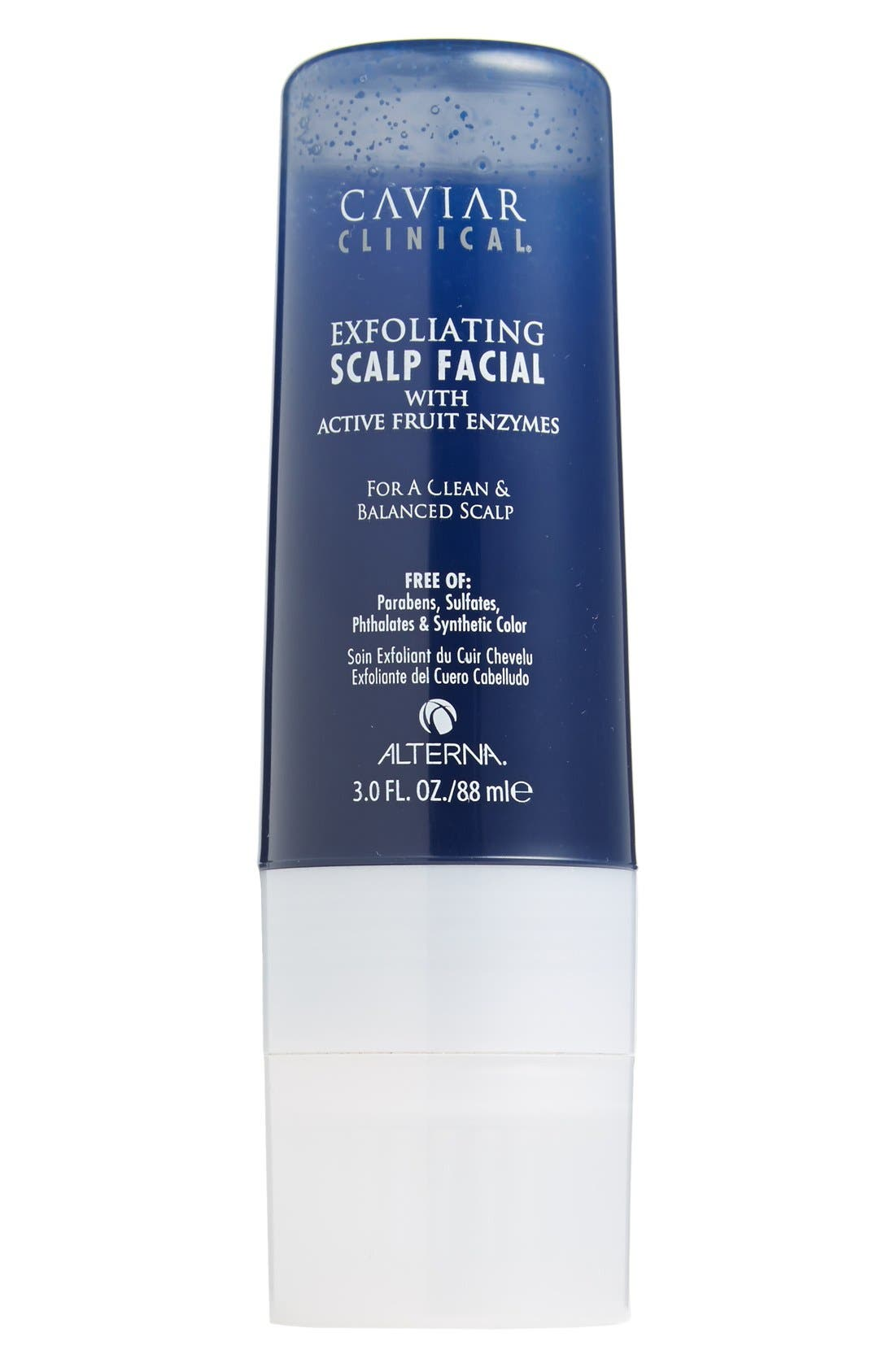 ALTERNA<SUP>®</SUP>,                             ALTERNA Caviar Clinical Exfoliating Scalp Facial,                             Main thumbnail 1, color,                             000