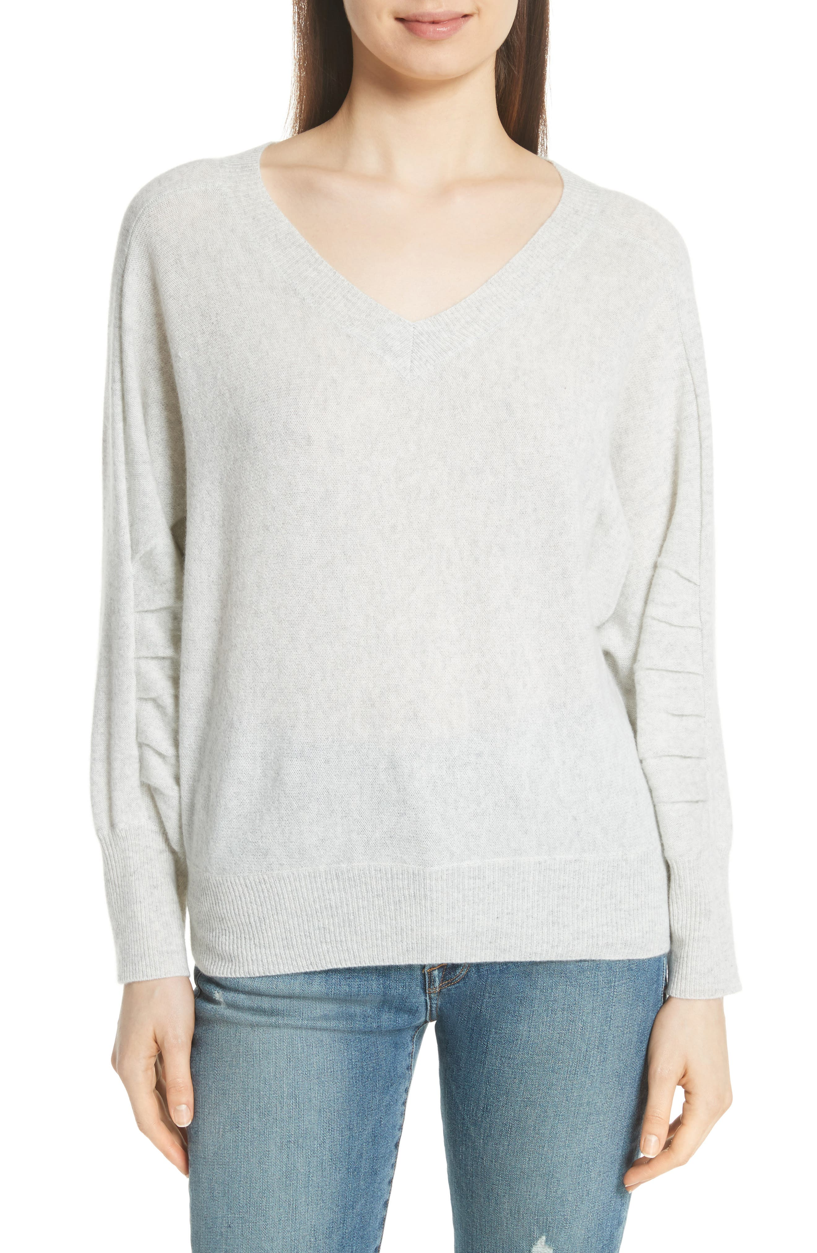 Weller Cashmere Sweater,                         Main,                         color, 100