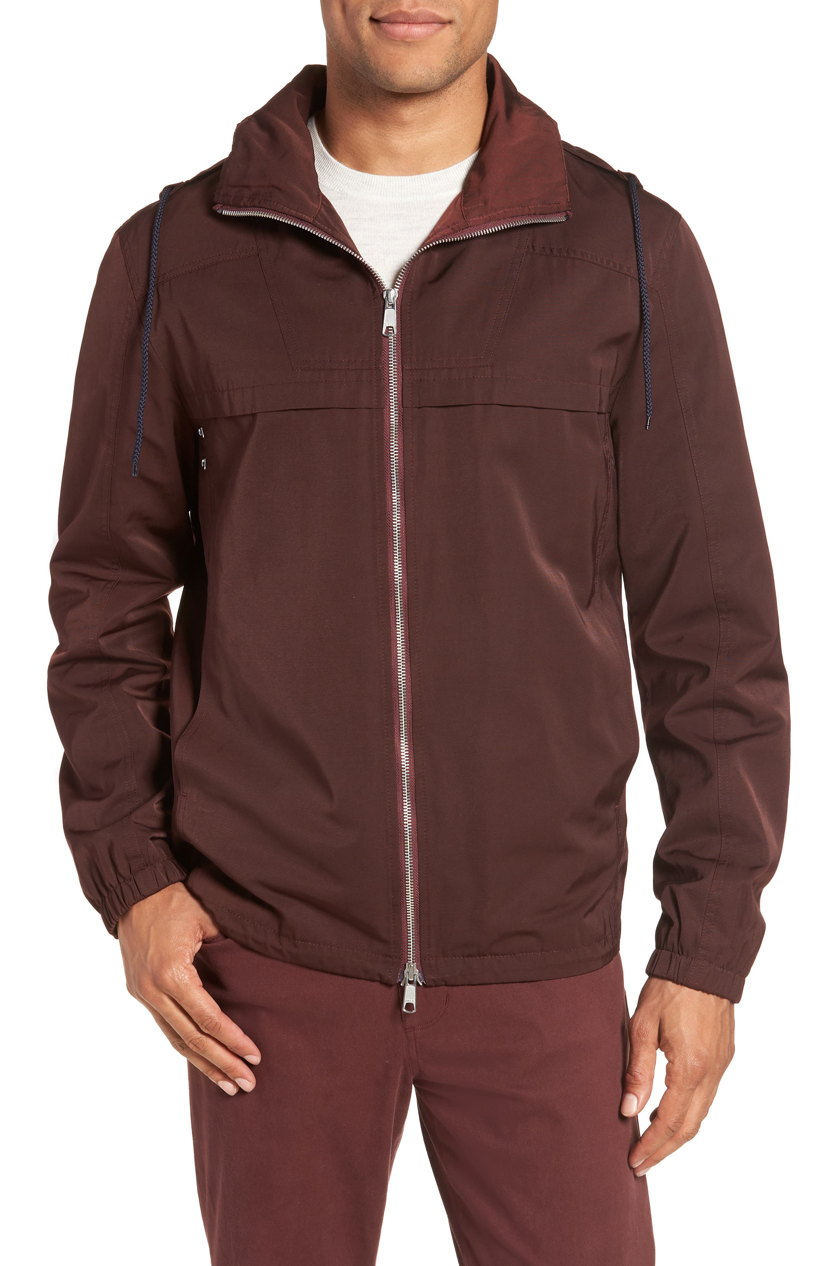 Zip Front Regular Fit Jacket,                             Main thumbnail 1, color,                             930