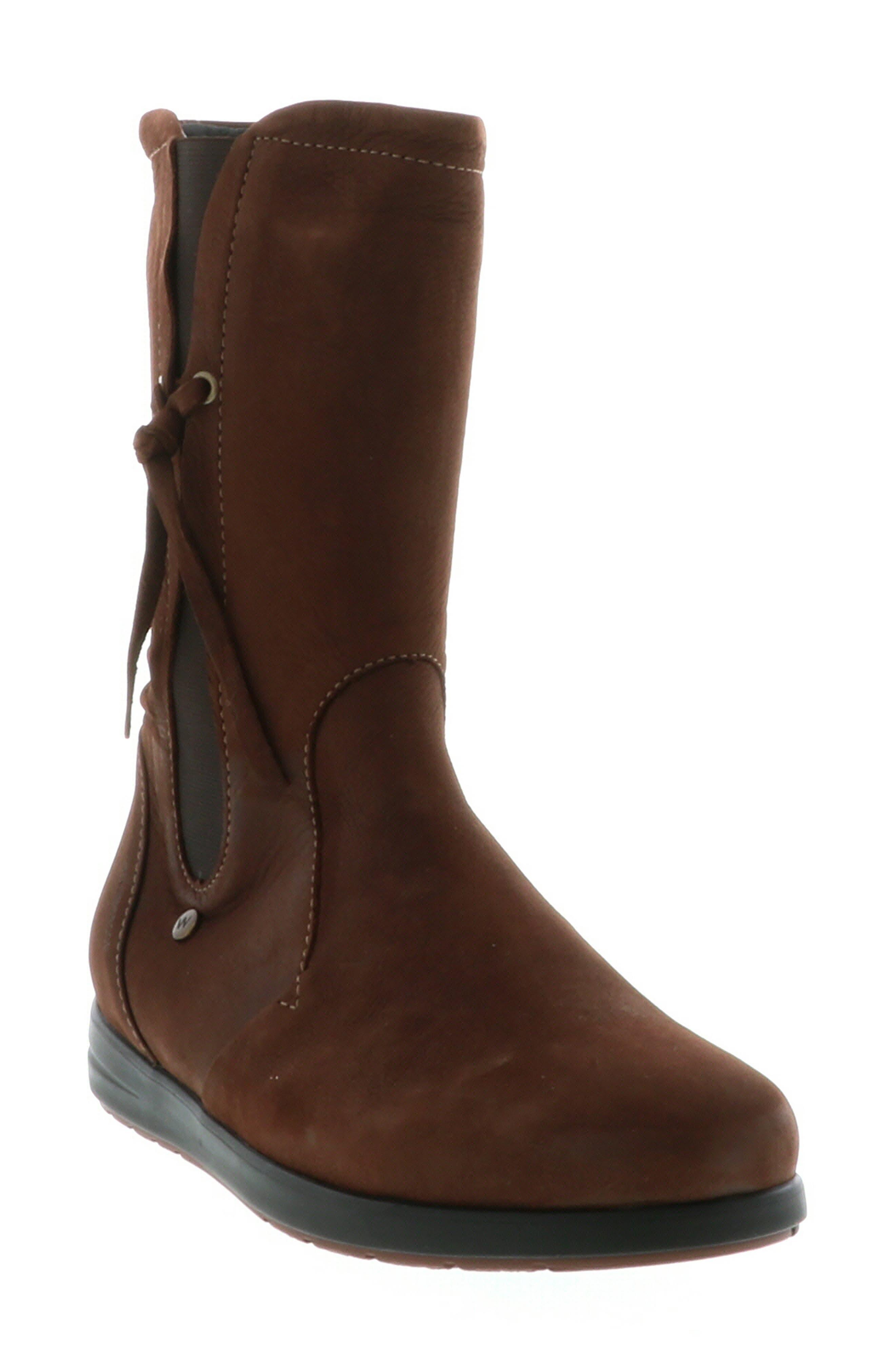 Wolky Newton Waterproof Boot - Brown