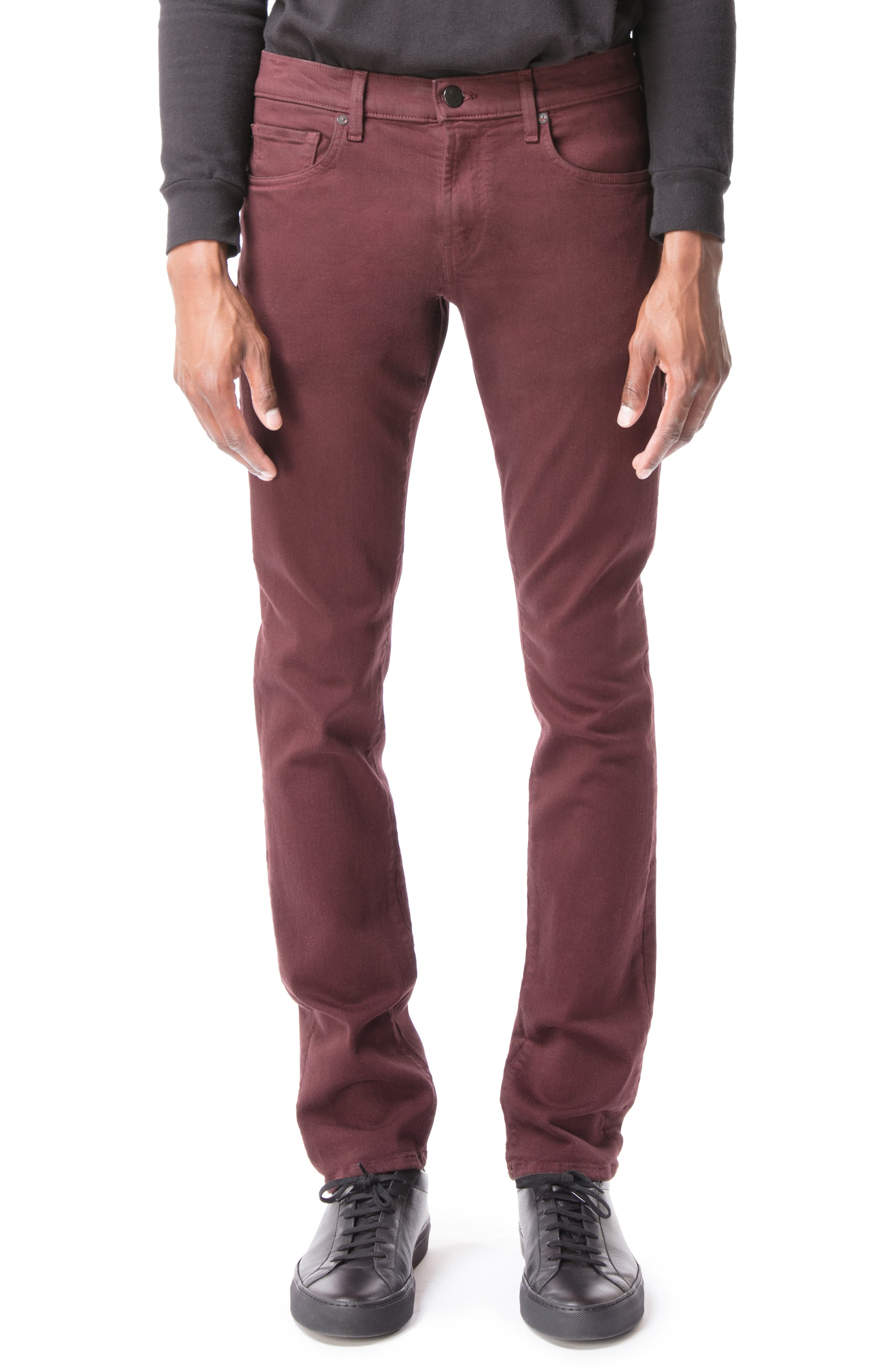J BRAND Men'S Tyler Slim-Fit Jeans - Seriously Soft Stretch Twill in Wine