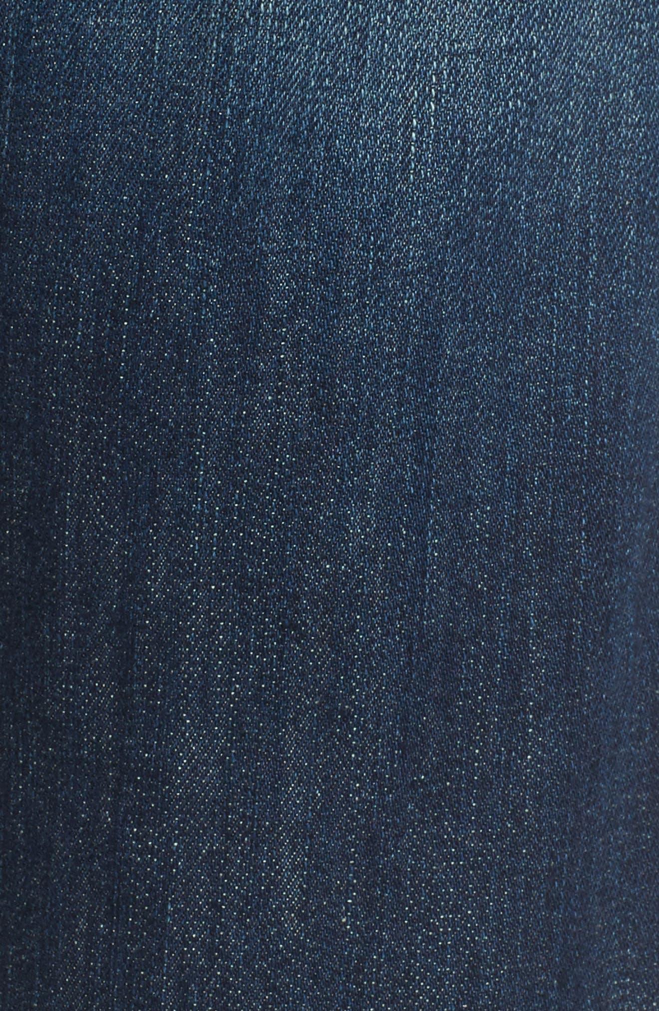 Smith Crop Boyfriend Jeans,                             Alternate thumbnail 5, color,