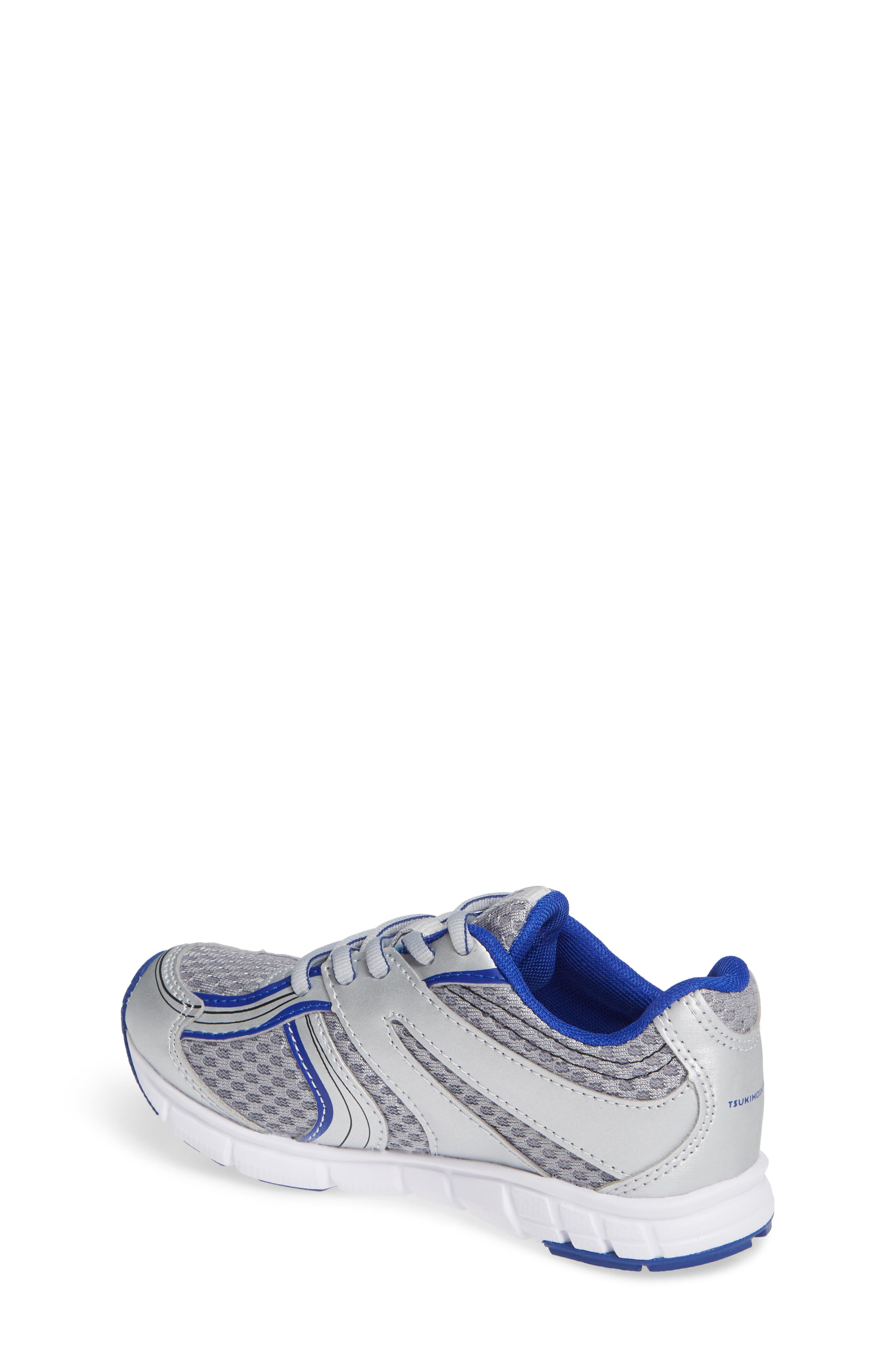 Dash Washable Sneaker,                             Alternate thumbnail 2, color,                             SILVER/ ROYAL