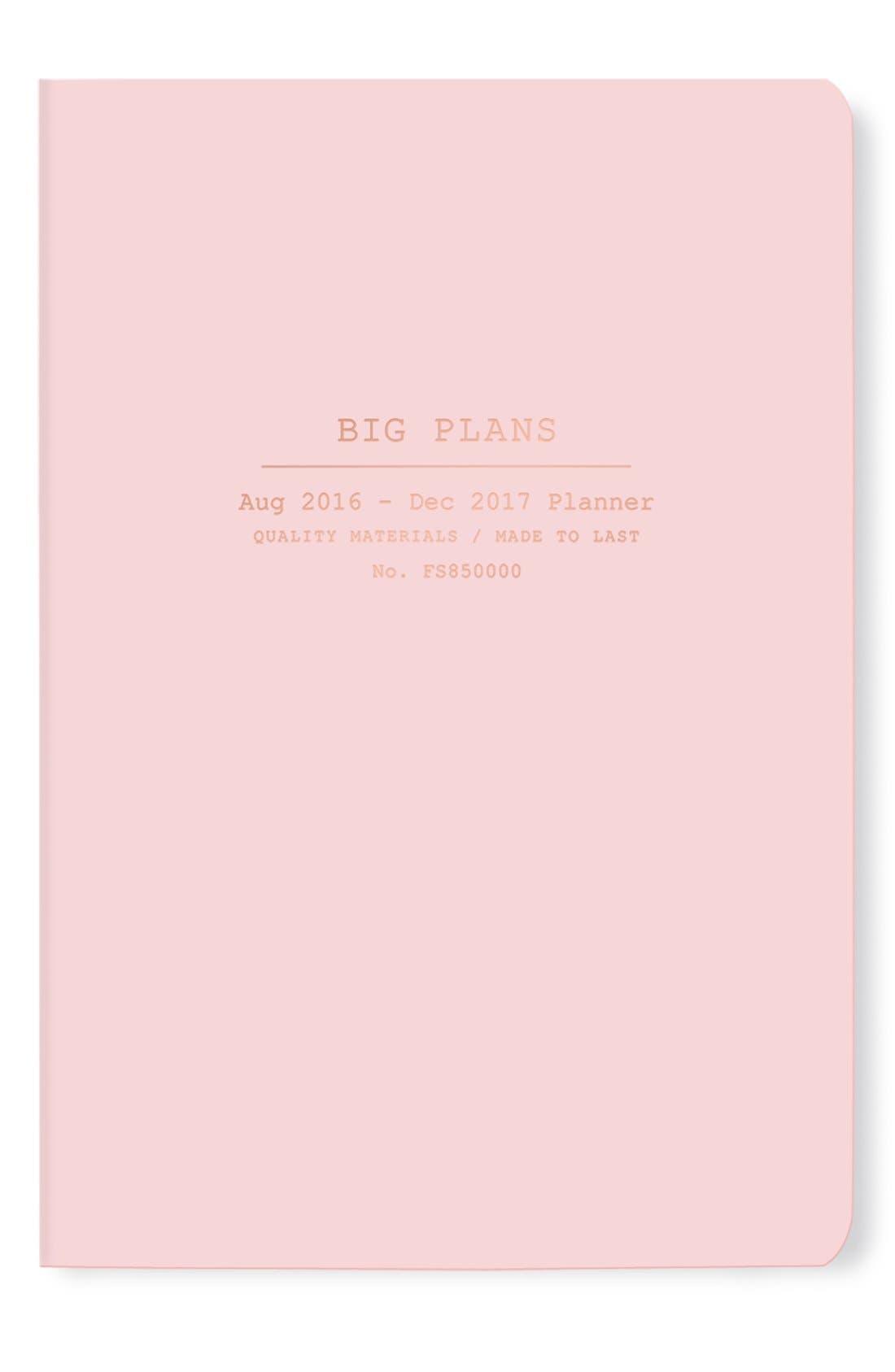 Big Plans 17-Month Agenda,                             Main thumbnail 1, color,                             650