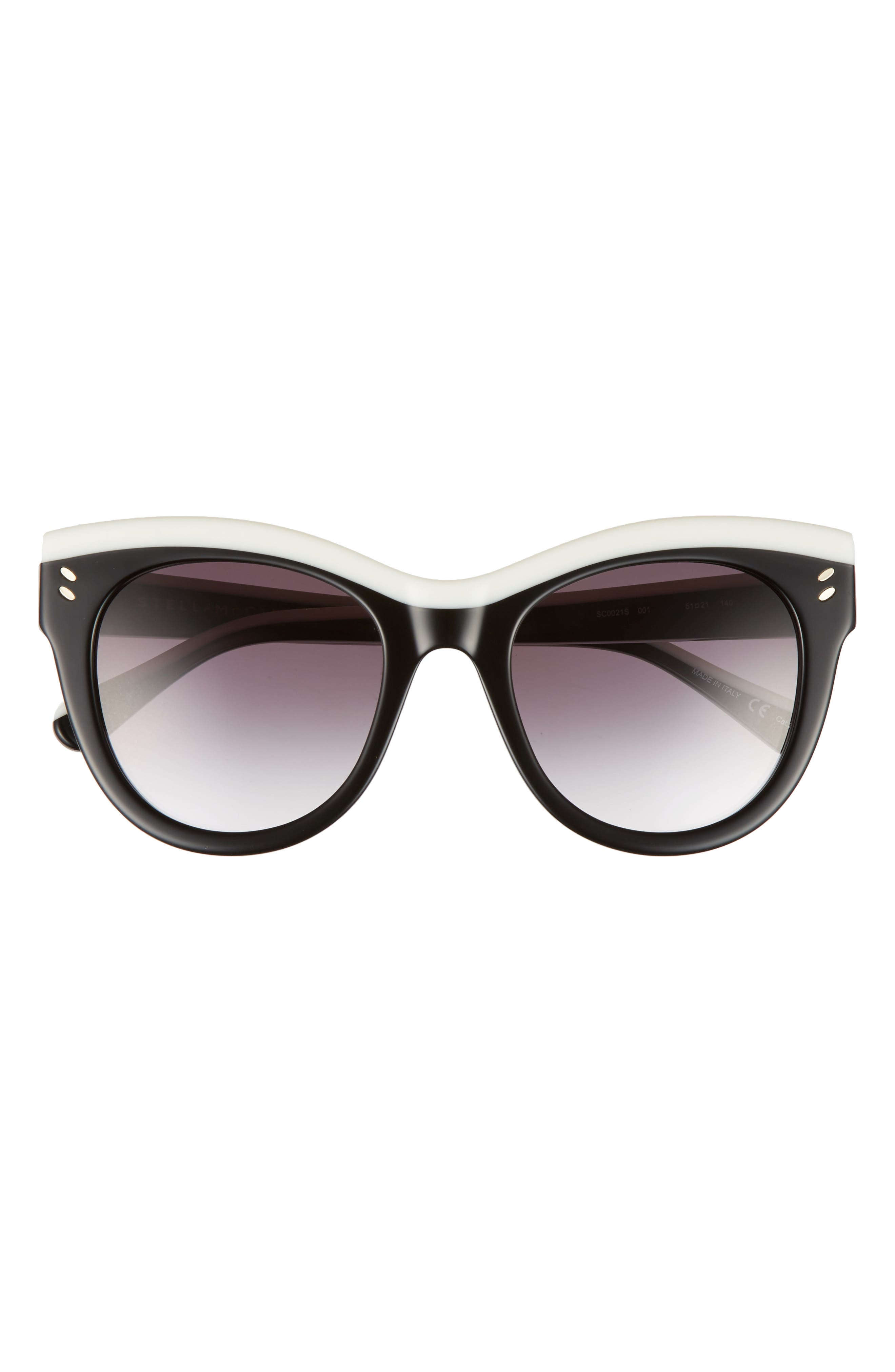 51mm Cat Eye Sunglasses,                             Alternate thumbnail 7, color,