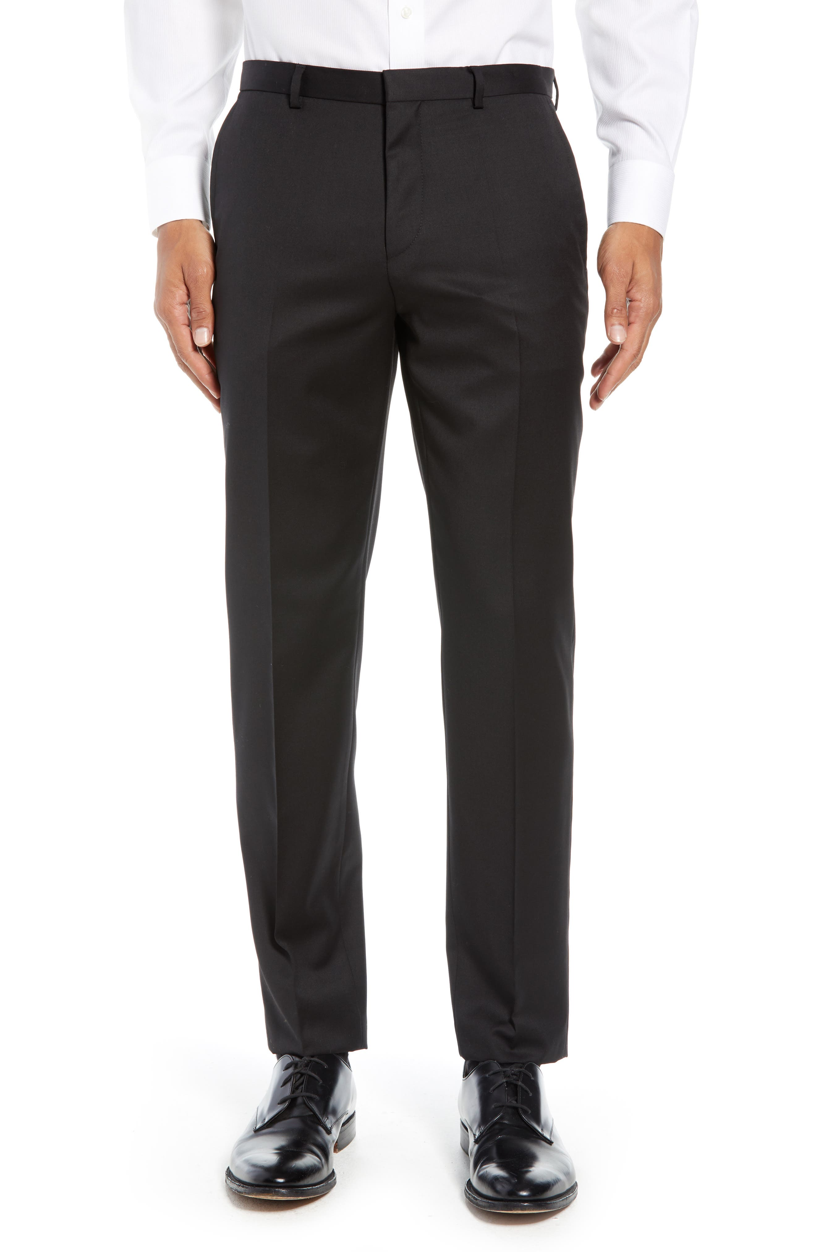 Hartley Extra Slim Trousers,                             Main thumbnail 1, color,                             BLACK