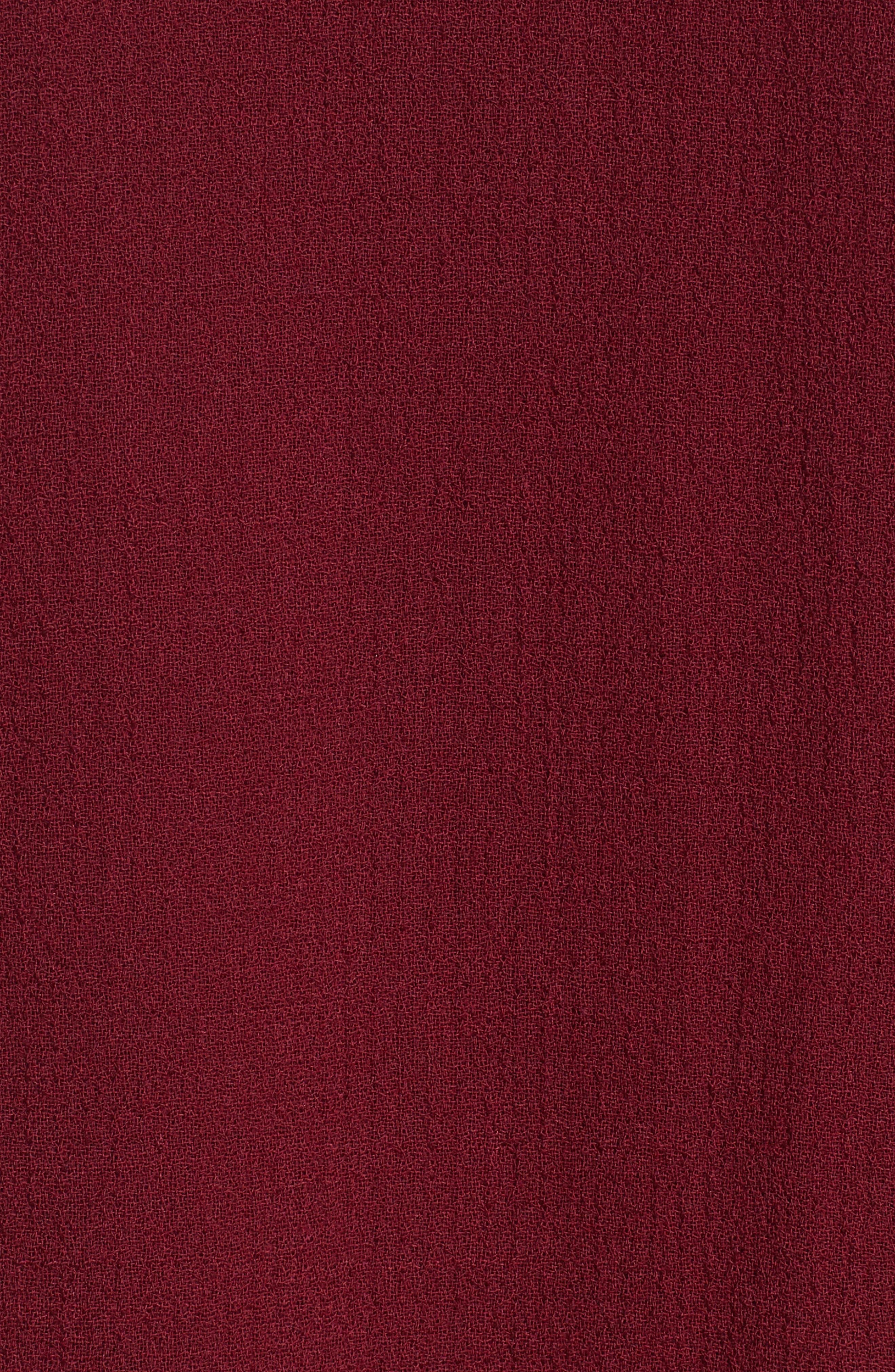 Robyn Nouveau Crepe Coat,                             Alternate thumbnail 6, color,
